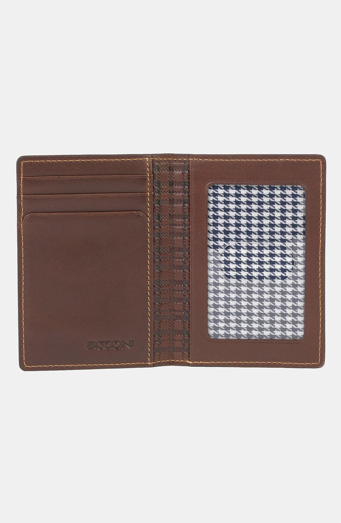Alternate Image 2  - Boconi 'Bryant - Slim' RFID Blocker Leather Card Case