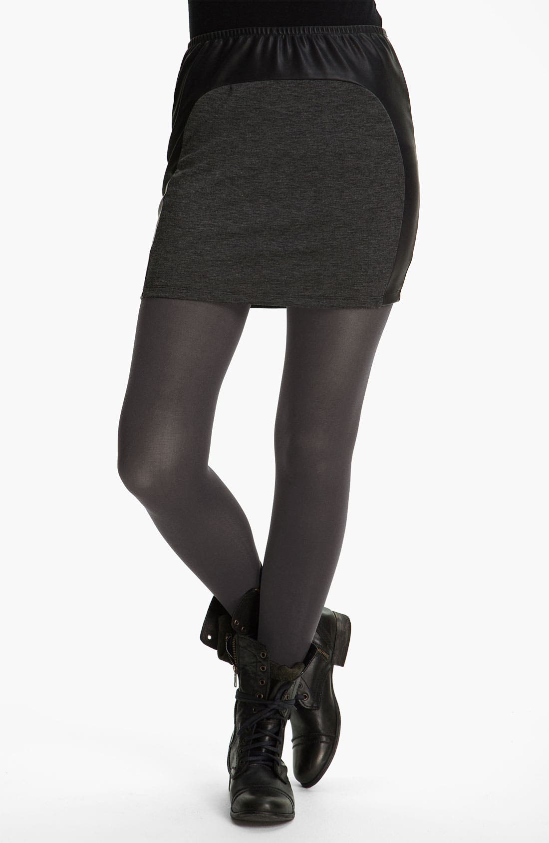 Alternate Image 1 Selected - Frenchi® Opaque Tights (Juniors)