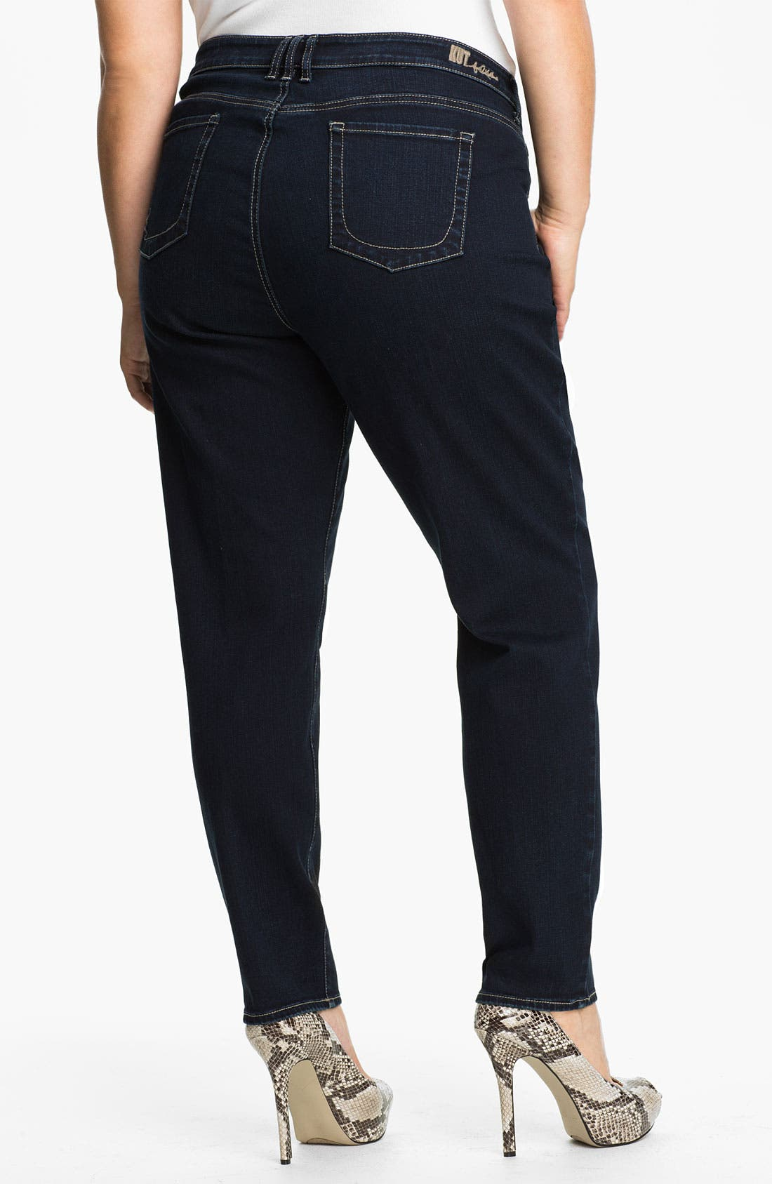 Alternate Image 2  - KUT from the Kloth Stretch Jeans (Plus)
