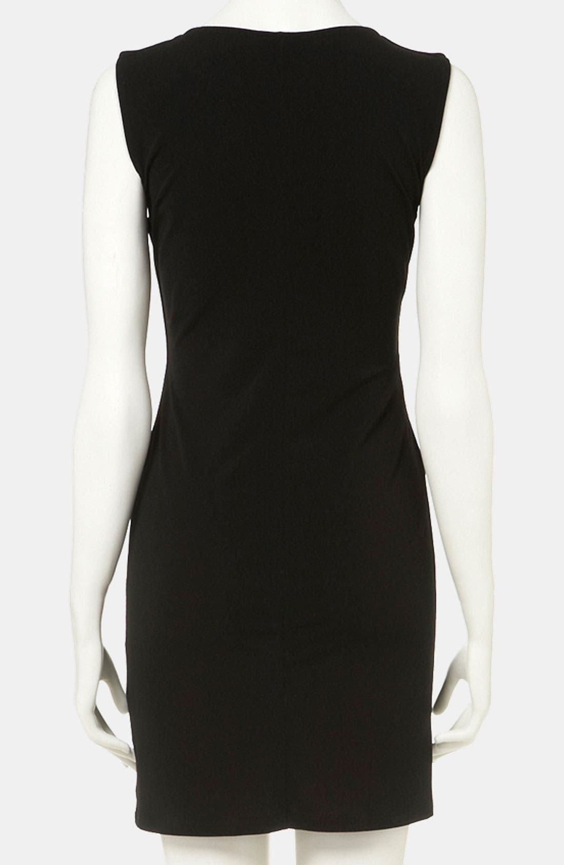 Alternate Image 3  - Topshop Knot Detail Maternity Dress