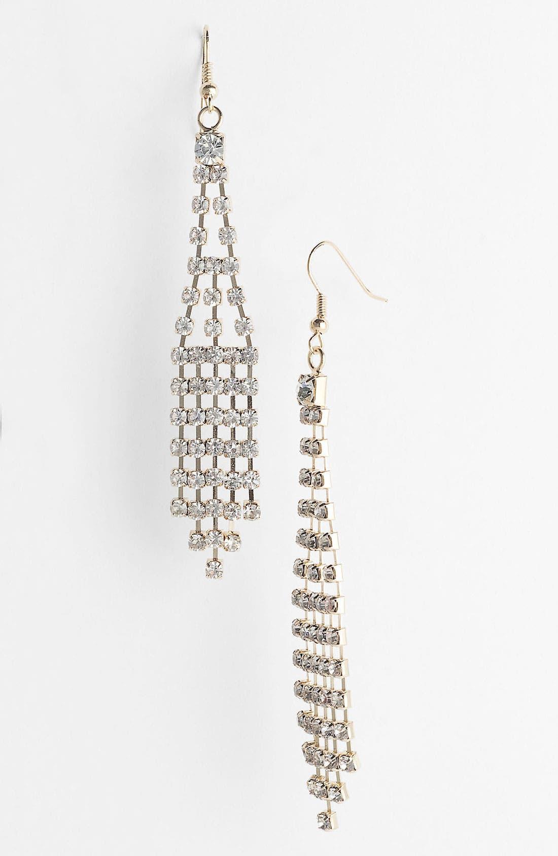 Alternate Image 1 Selected - Carole Rhinestone Chandelier Earrings