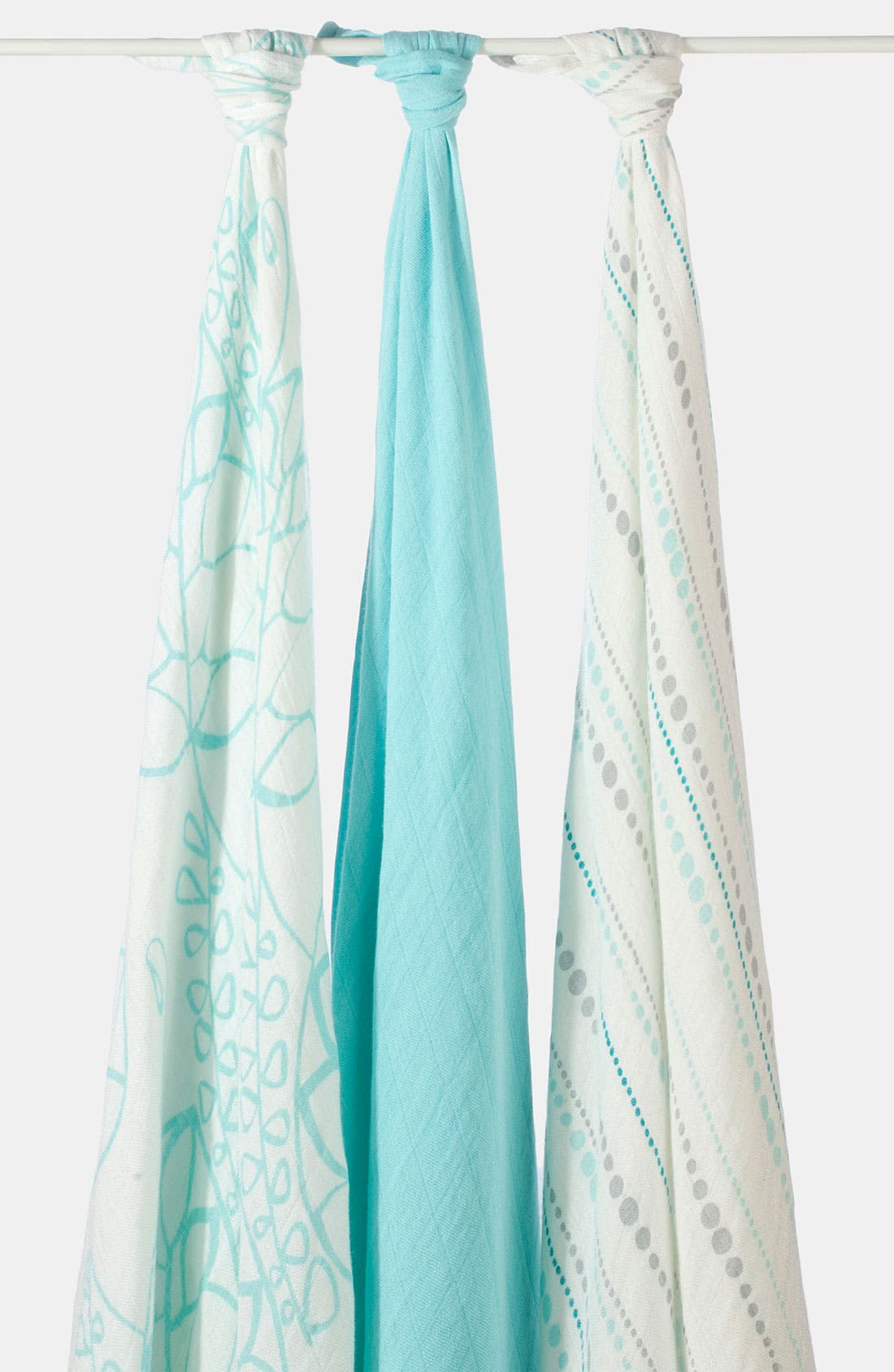 Main Image - aden + anais Swaddling Cloths, 3-Pack