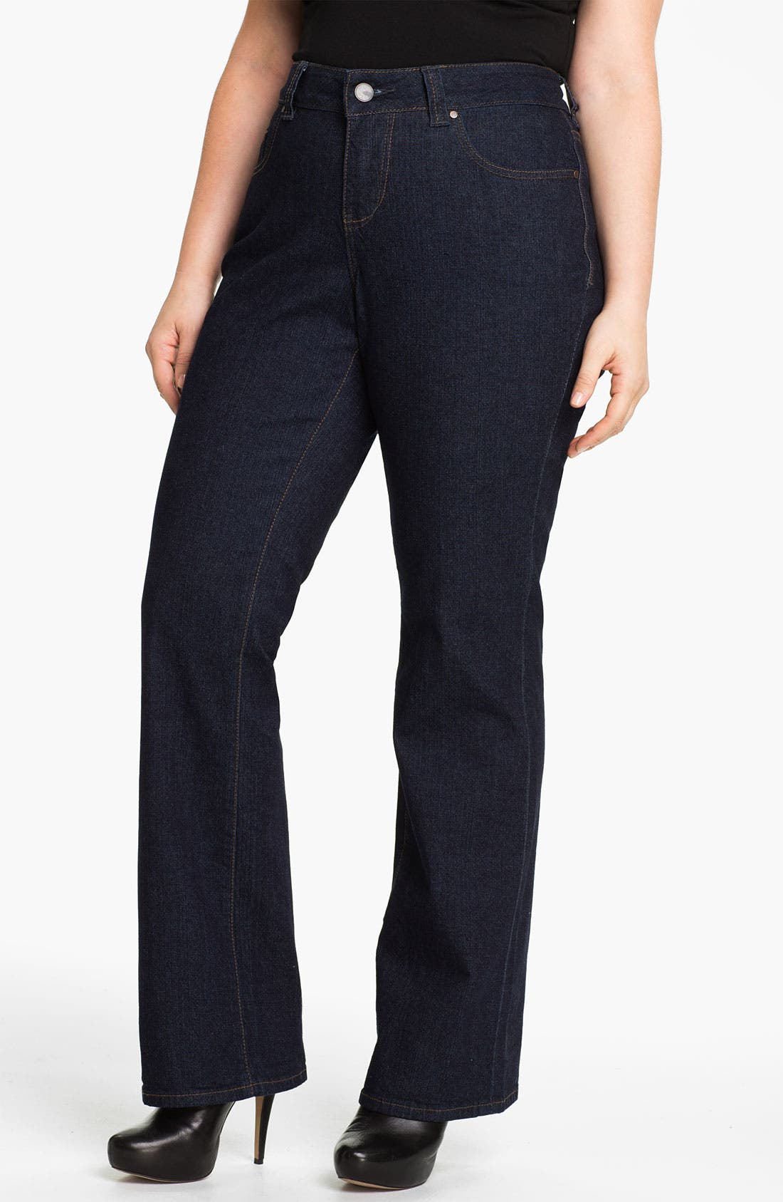 Main Image - Jag Jeans 'Foster' Bootcut Jeans (Plus Size)