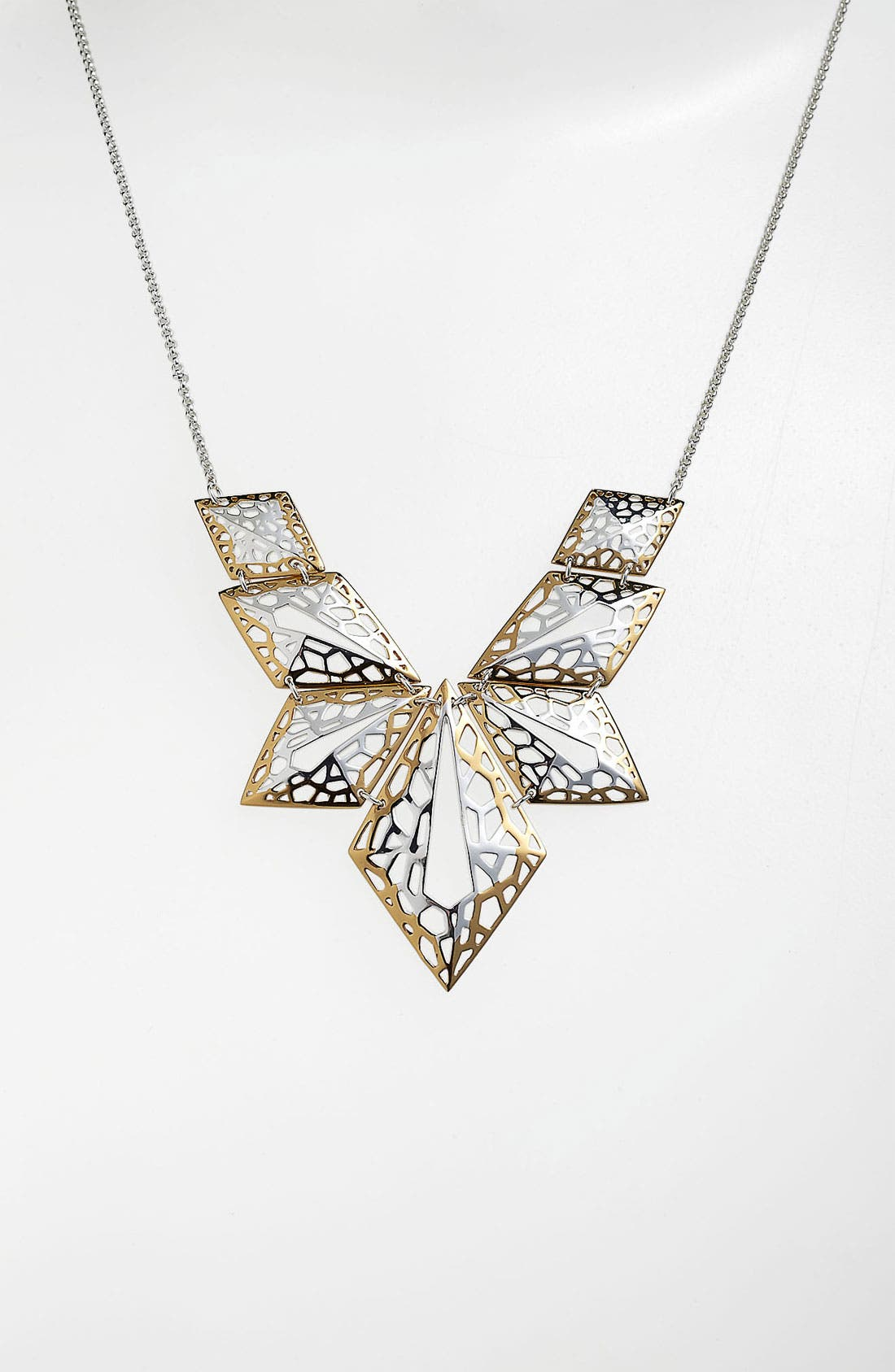 Alternate Image 1 Selected - Argento Vivo 'Prism' Geometric Statement Necklace