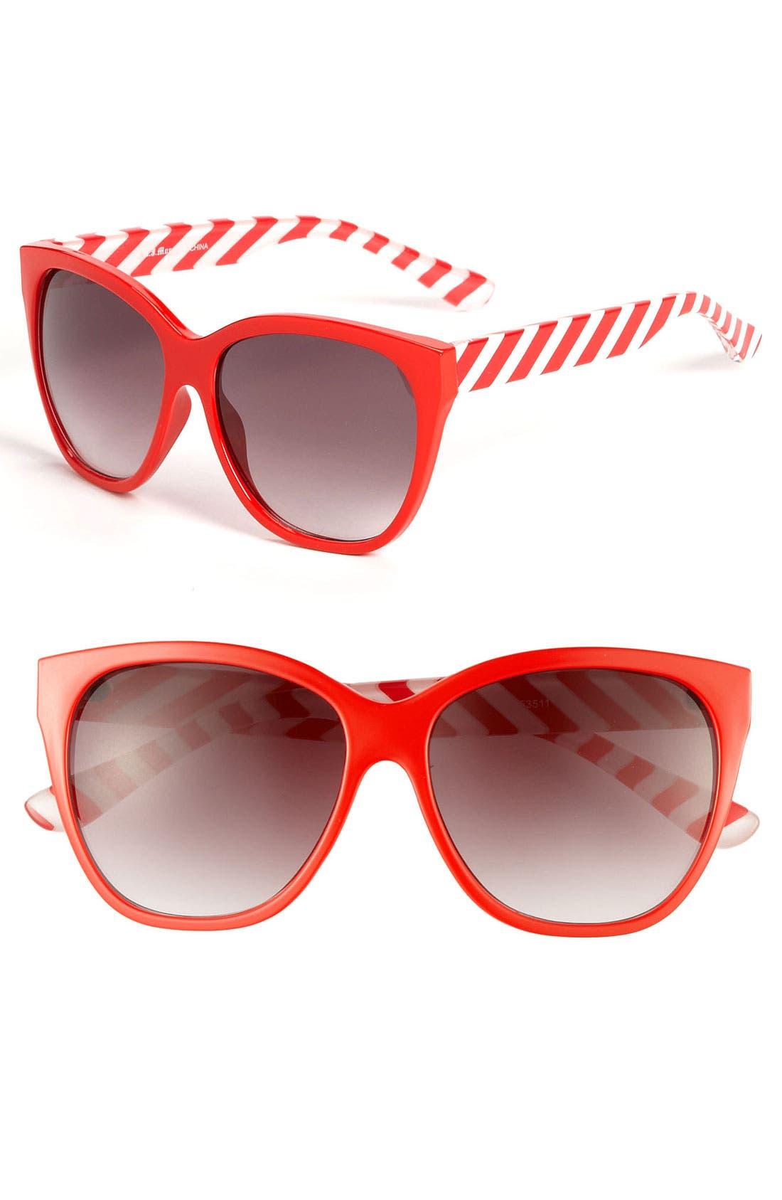 Alternate Image 1 Selected - A.J. Morgan 'Cha Cha' Sunglasses