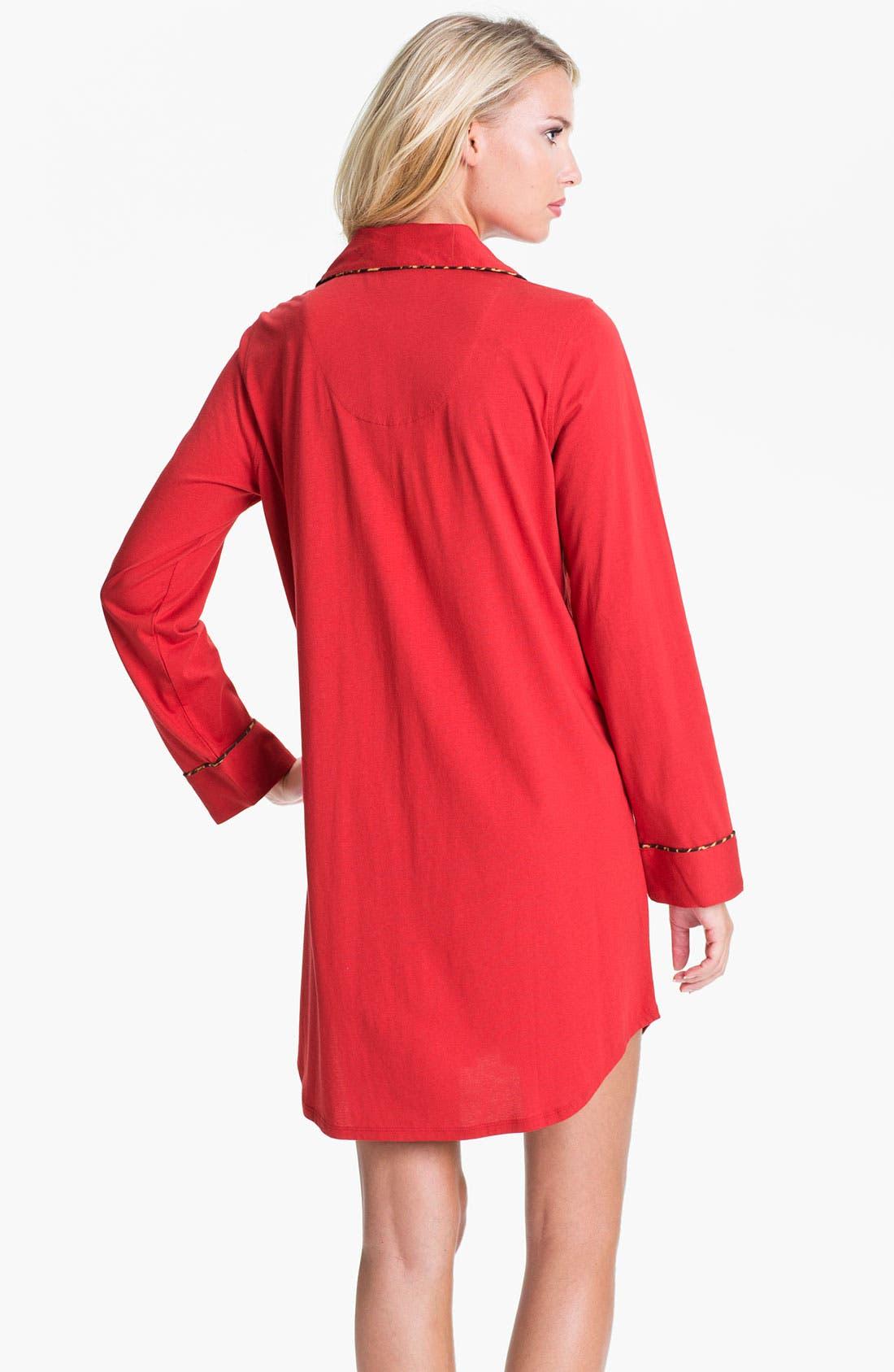 Alternate Image 2  - Lauren Ralph Lauren Sleepwear Knit Nightshirt