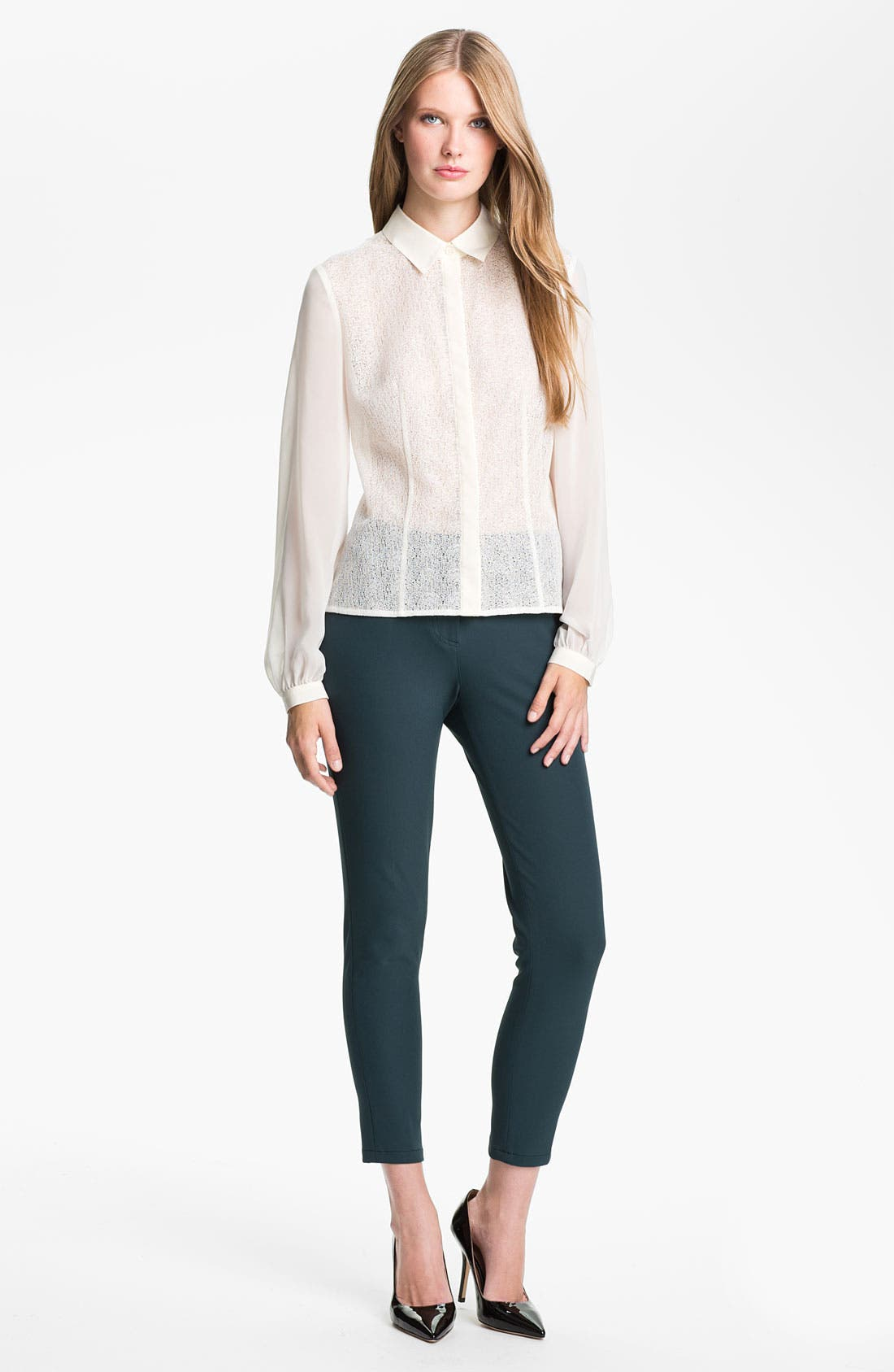 Alternate Image 4  - Kenneth Cole New York 'Paige' Tech Pants (Petite)