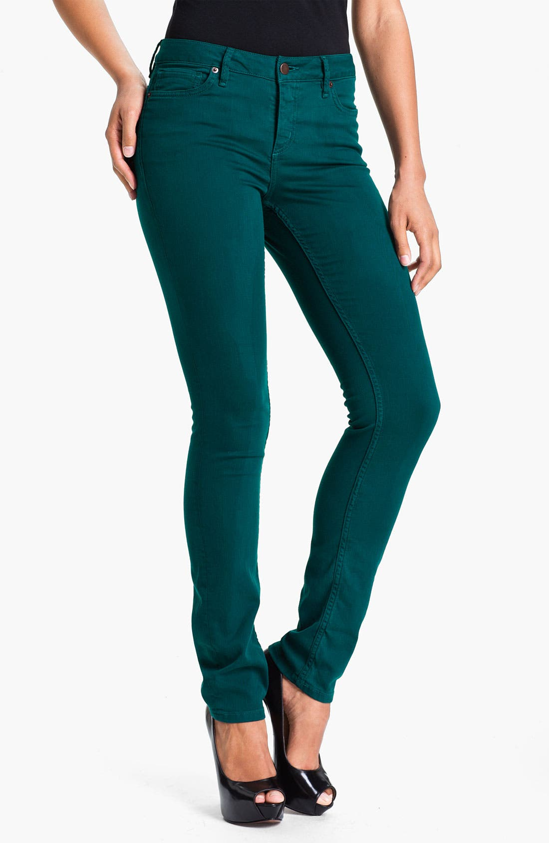 Alternate Image 1 Selected - Christopher Blue 'Sophia' Skinny Twill Jeans