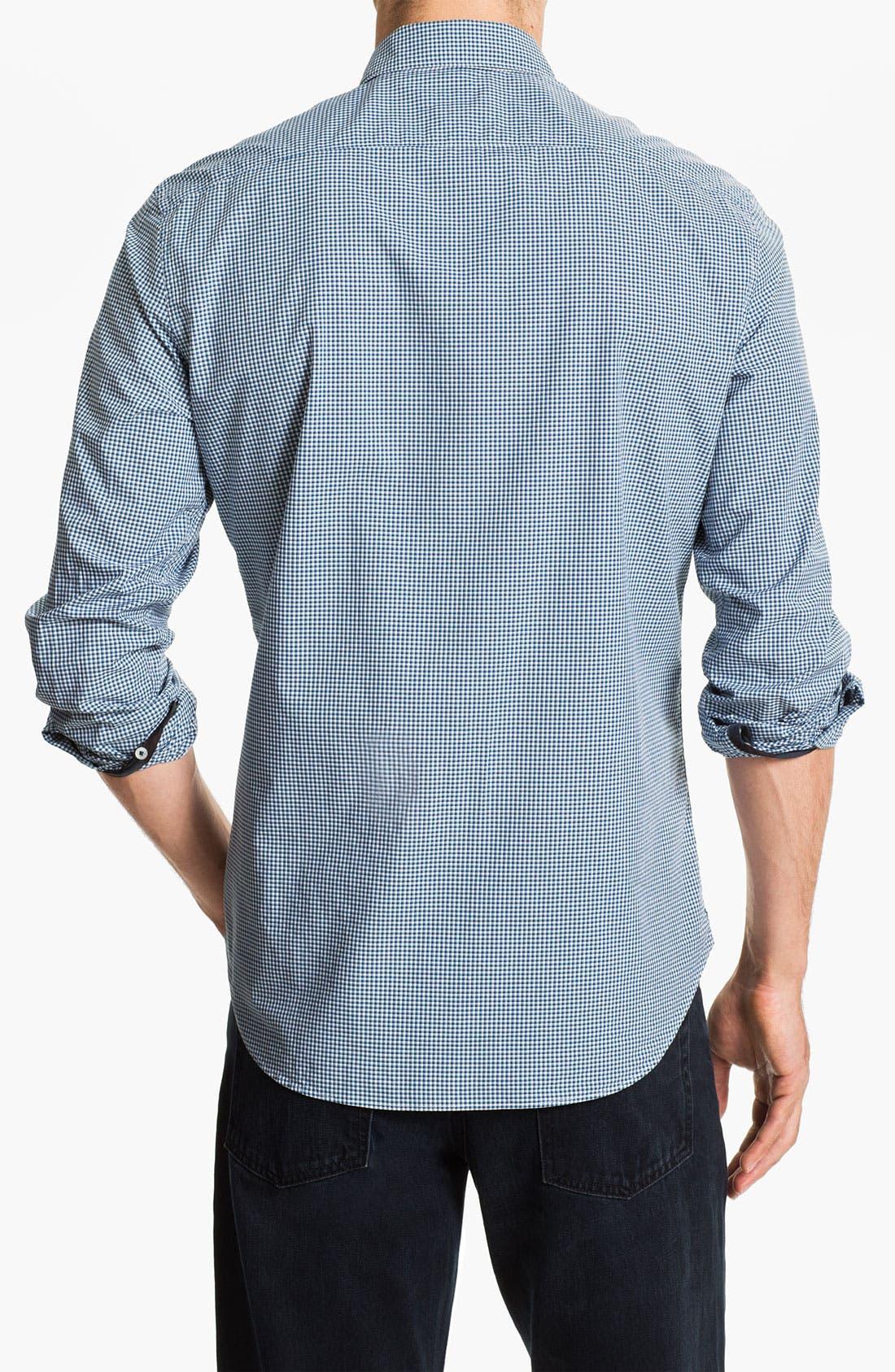 Alternate Image 2  - Burberry Trim Fit Sport Shirt