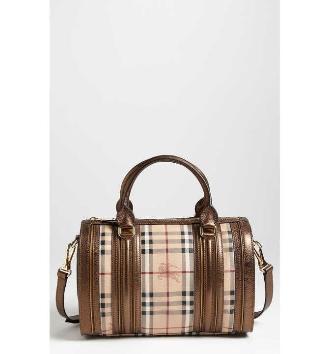 Burberry Haymarket Bowling Bag