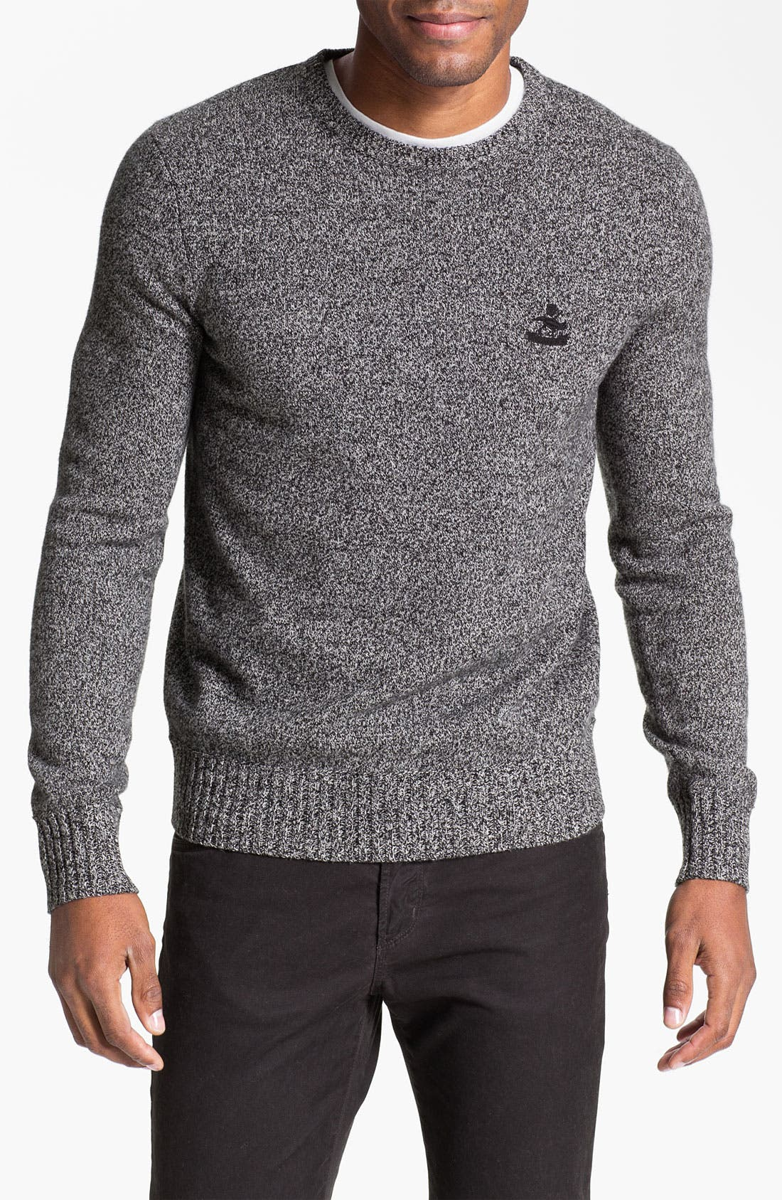 Main Image - Façonnable Wool Crewneck Sweater