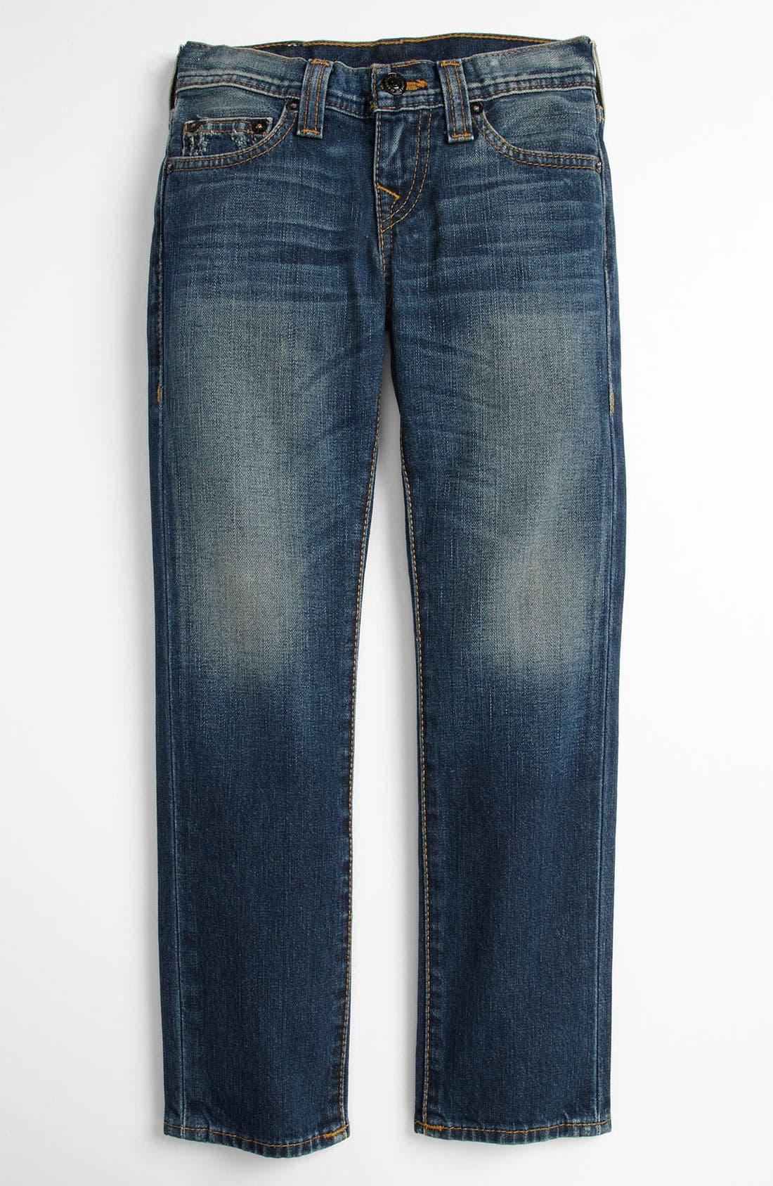 Alternate Image 2  - True Religion Brand Jeans 'Rocco Skinny Fit' Jeans (Little Boys)