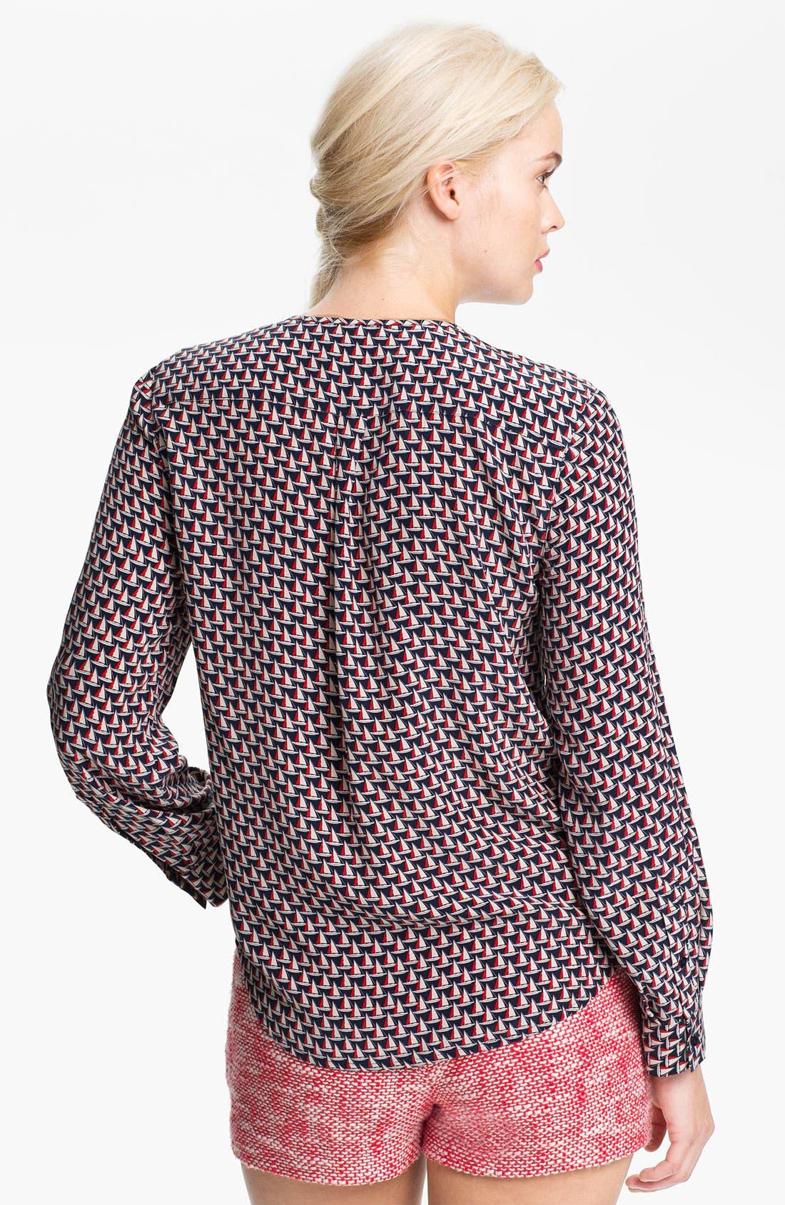 Alternate Image 2  - Joie 'Osana' Print Silk Blouse