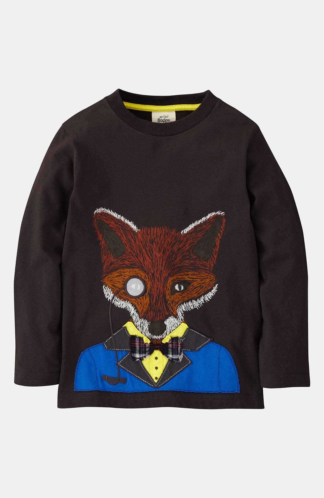 Main Image - Mini Boden 'Winter Animal' T-Shirt (Little Boys & Big Boys)