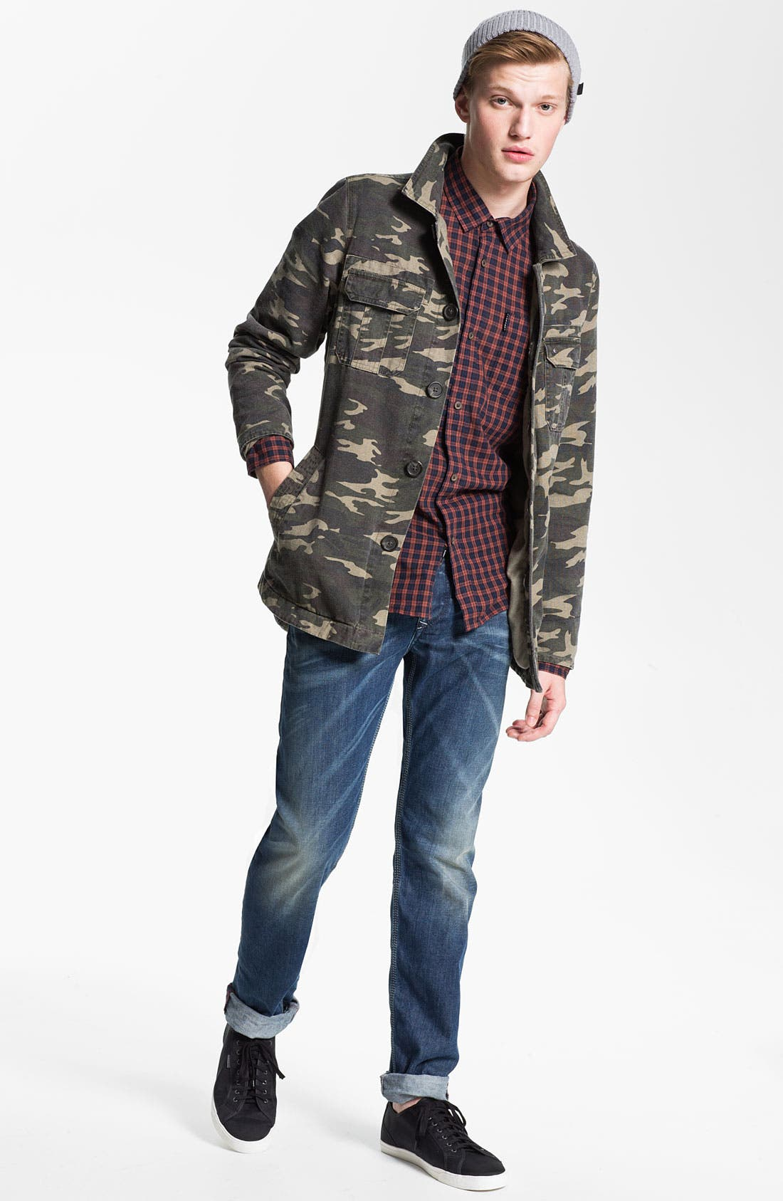 Alternate Image 5  - DIESEL® 'Ty-Tool' Straight Leg Jeans (0804N)
