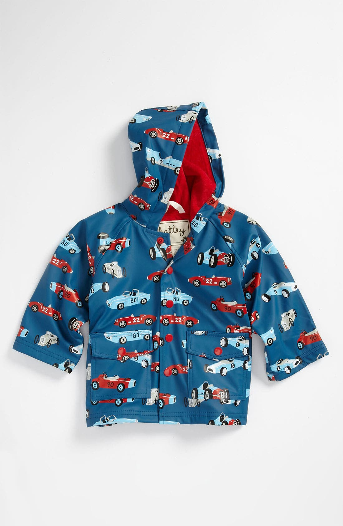 Alternate Image 1 Selected - Hatley 'Vintage Cars' Rain Jacket (Infant, Toddler, Little Boys & Big Boys)