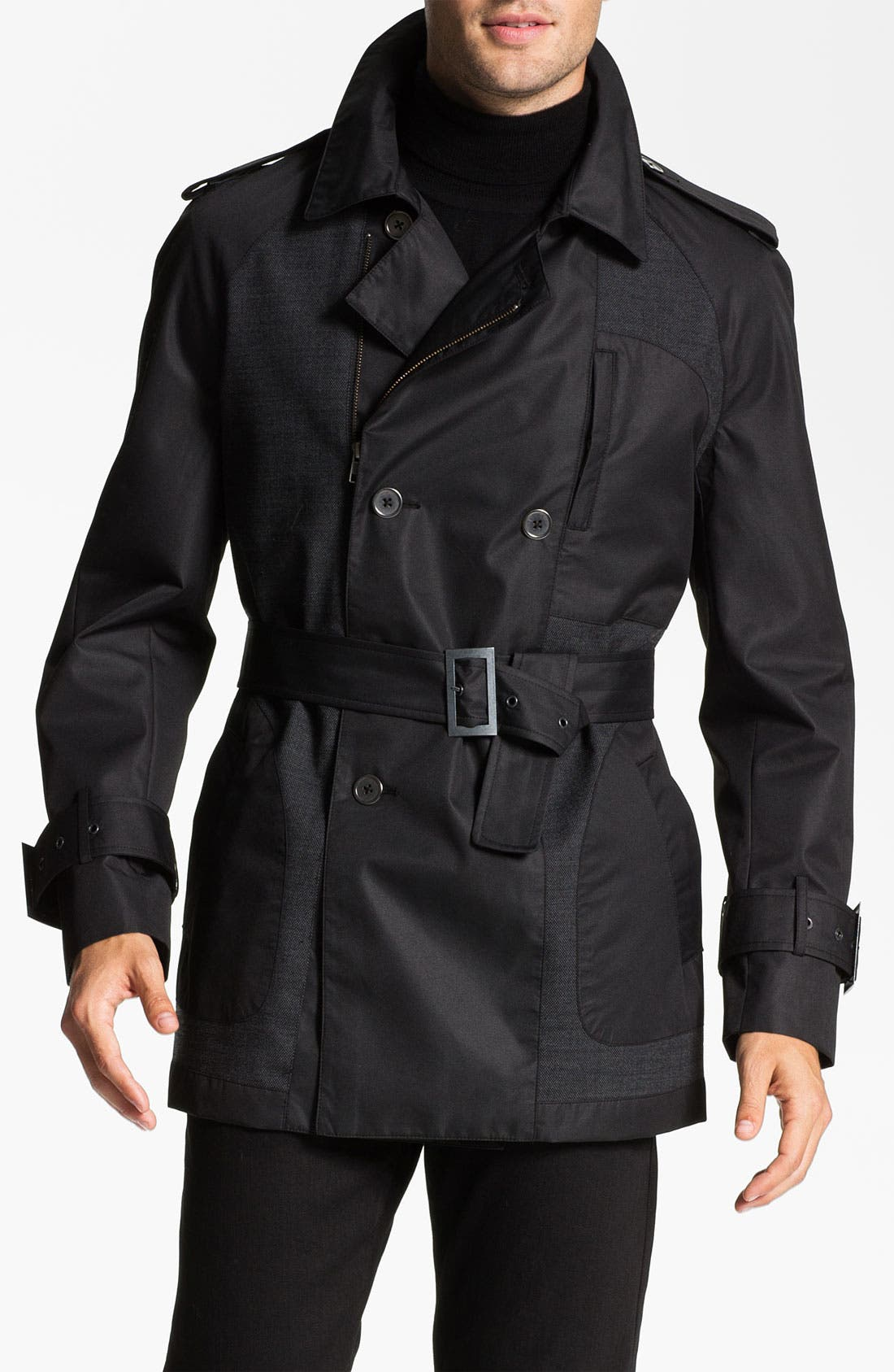 Alternate Image 1 Selected - W.R.K 'Empire' Trench Coat