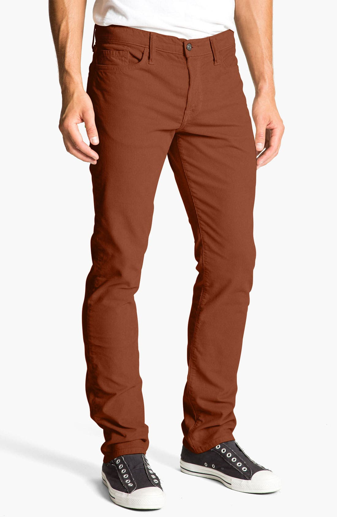 Alternate Image 1 Selected - Vince Slim Straight Leg Corduroy Pants