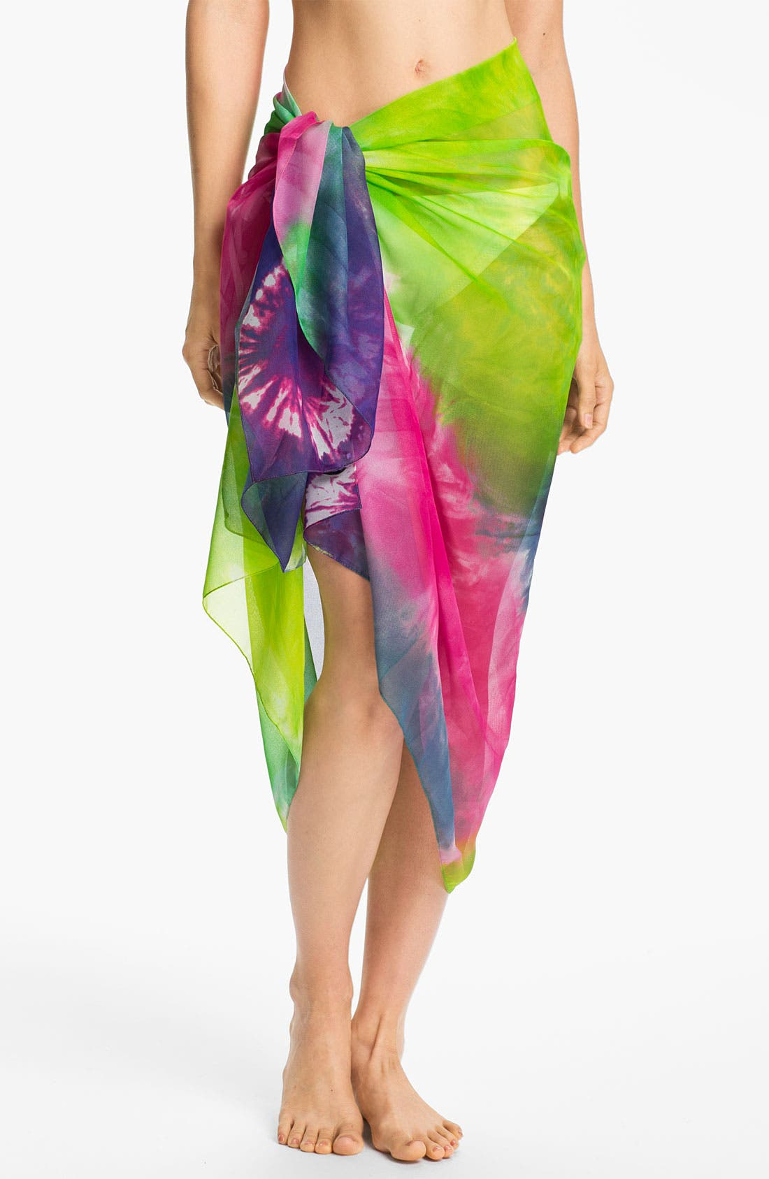 Alternate Image 1 Selected - Tarnish Tie Dye Pareo