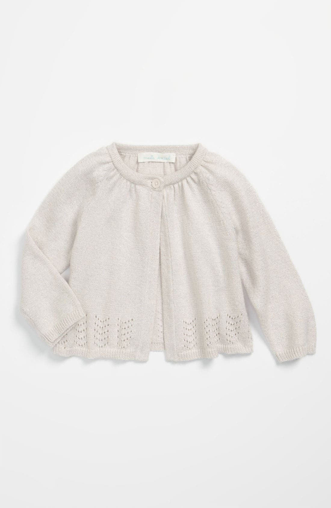 Alternate Image 1 Selected - Marie-Chantal 'Baby' Swing Cardigan (Infant)