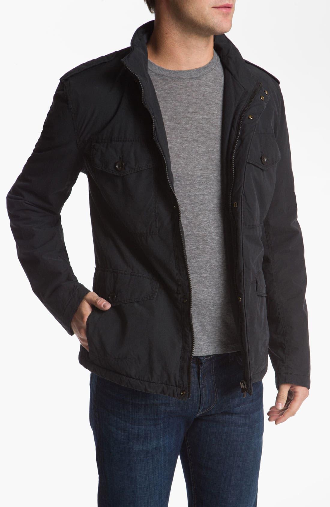 Main Image - BOSS Orange 'Osoda1-W' Washed Cotton Blend Jacket