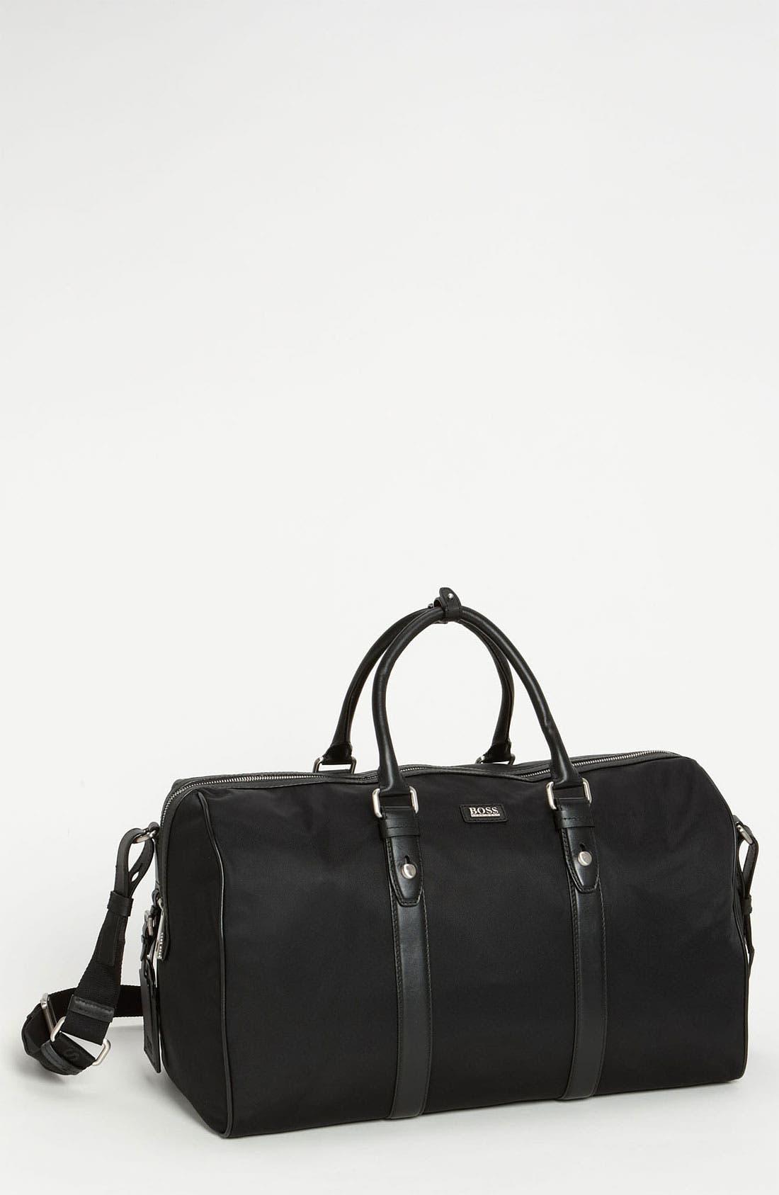 Alternate Image 1 Selected - BOSS Black 'Teddi' Duffel Bag