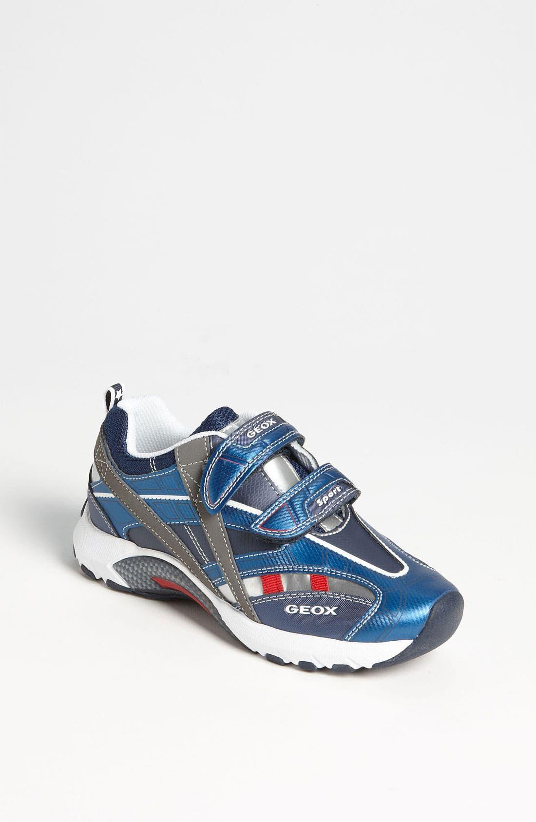 Alternate Image 1 Selected - Geox 'Stark' Sneaker (Toddler, Little Kid & Big Kid)