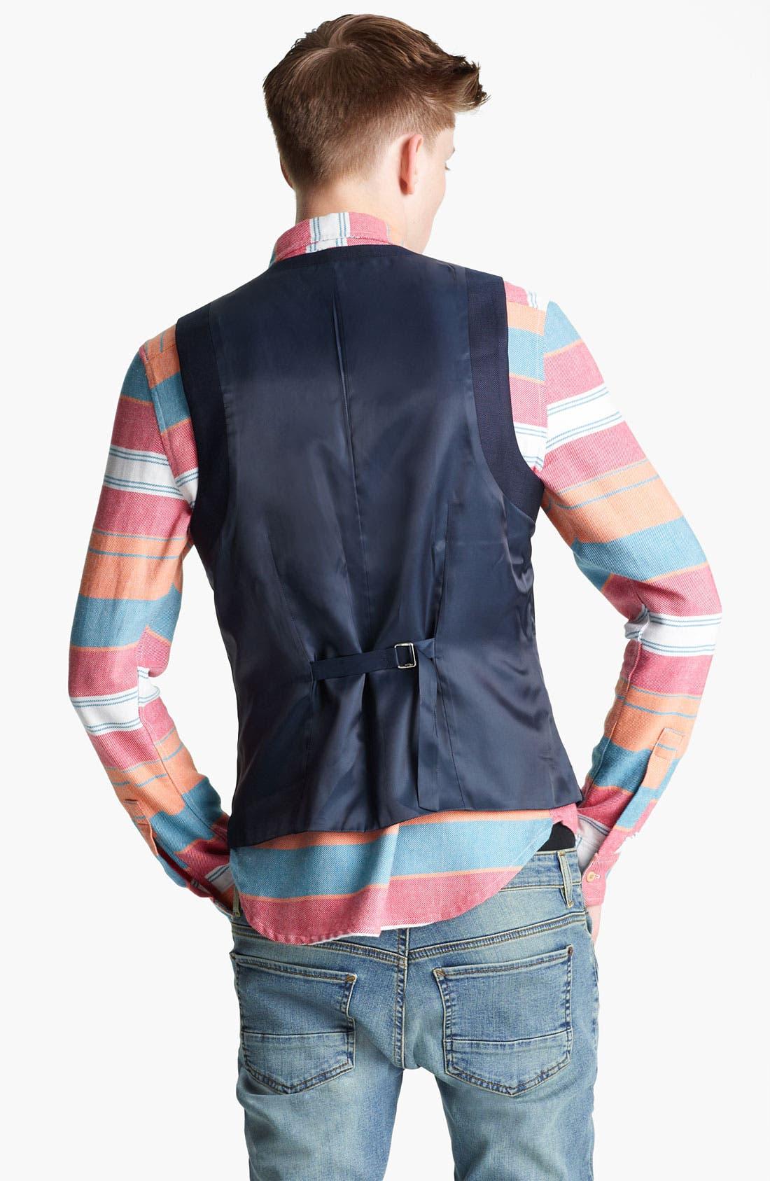 Alternate Image 2  - Topman 'Chester' Waistcoat