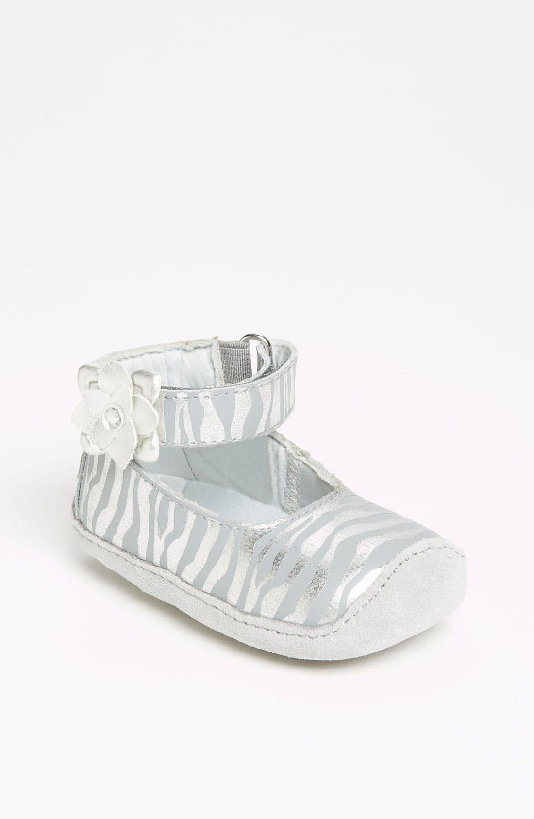Alternate Image 1 Selected - Stride Rite 'Crawl Pretty - Aggy' Flat (Baby)