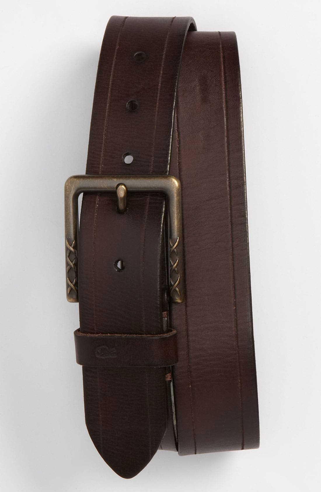 Alternate Image 1 Selected - John Varvatos Star USA Leather Belt