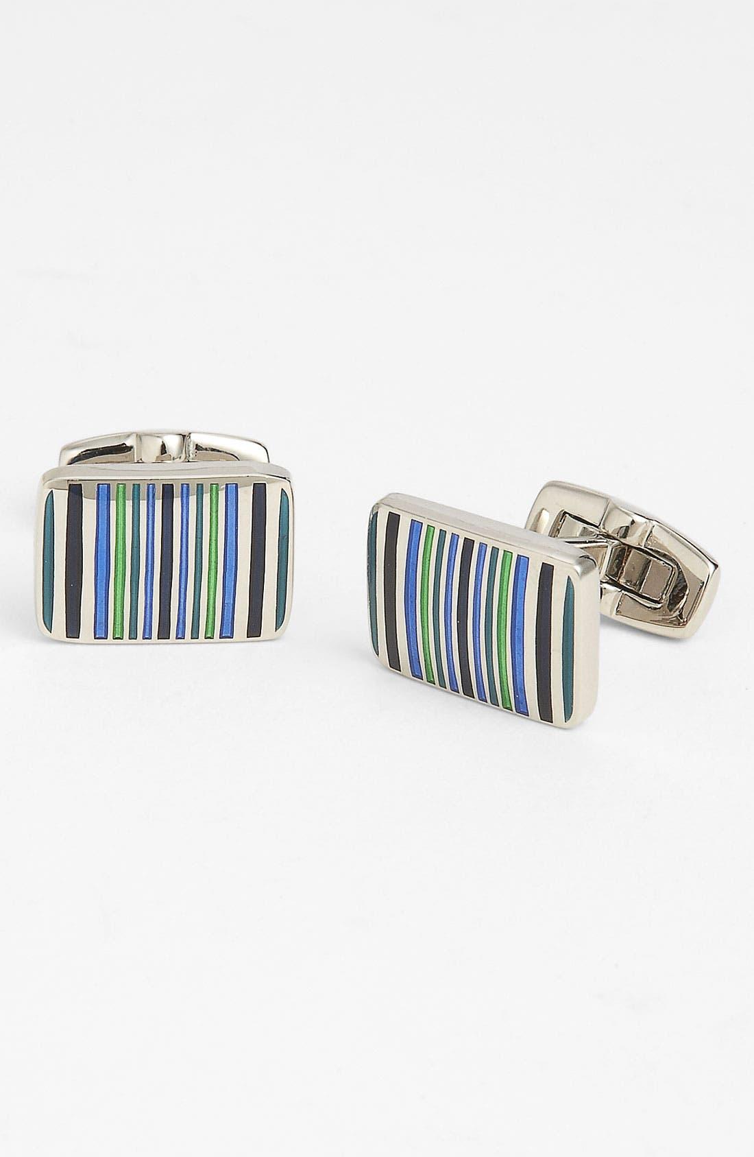 Main Image - Duchamp 'Fortune Stripe' Cuff Links
