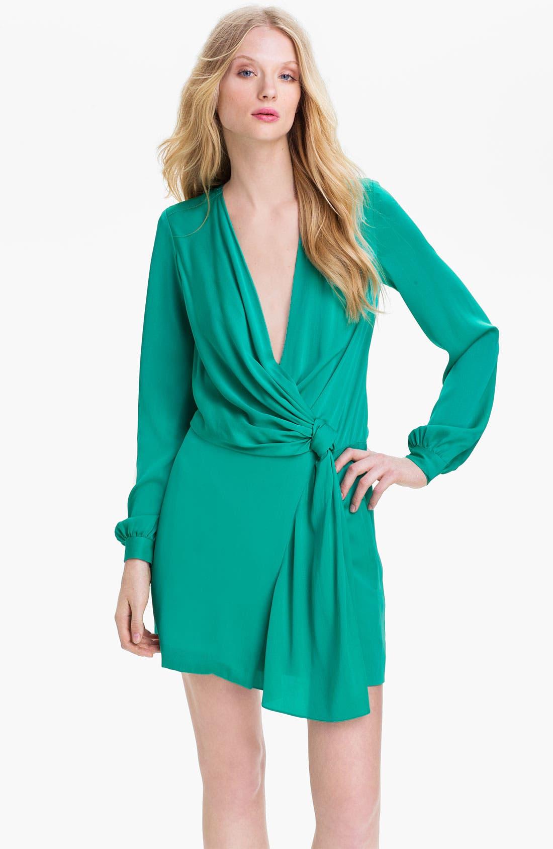Alternate Image 1 Selected - Diane von Furstenberg 'Dora' Stretch Silk Blouson Dress (Online Exclusive)