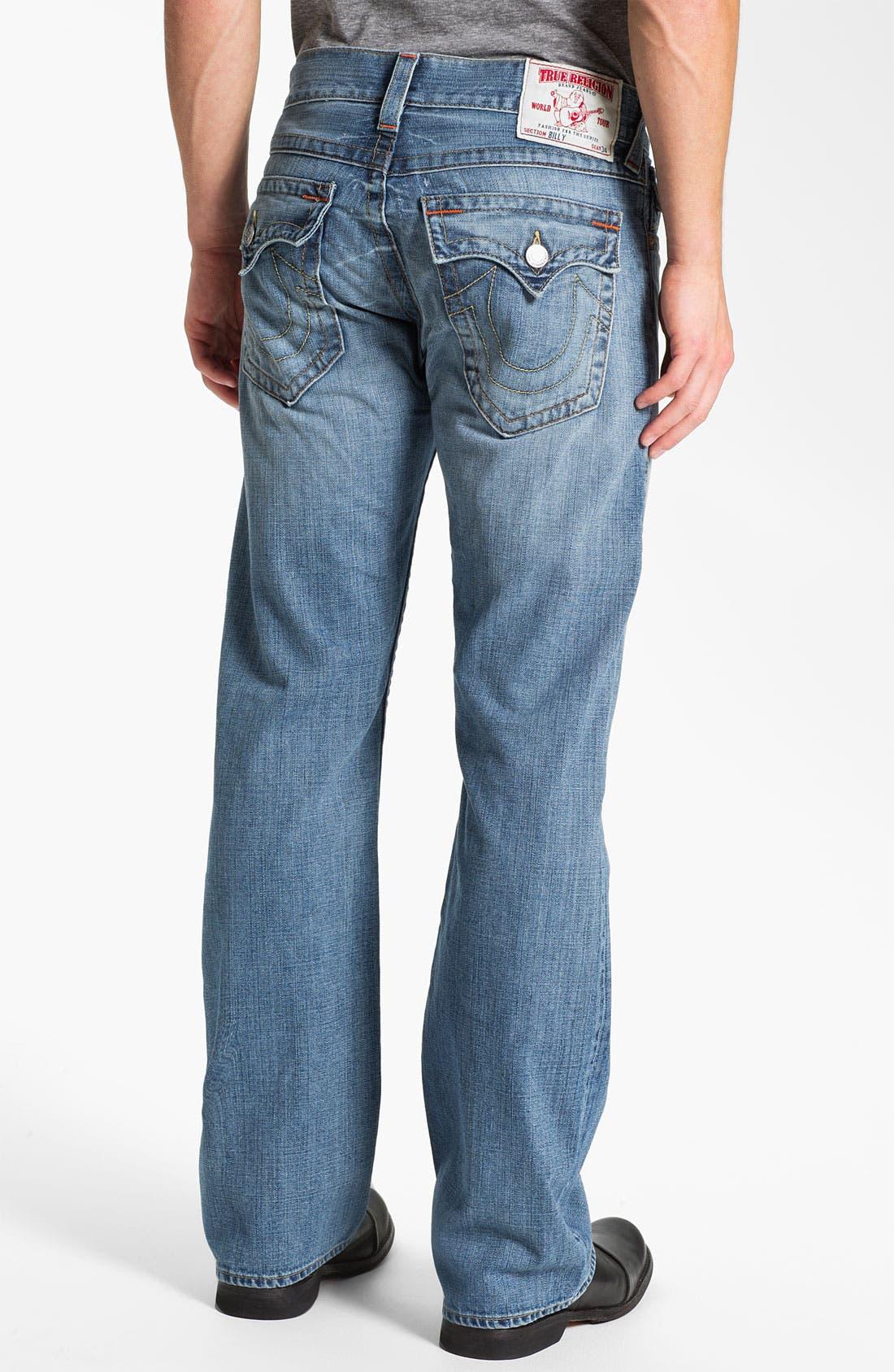 Main Image - True Religion Brand Jeans 'Billy' Bootcut Jeans (Vam Shade Horizon)
