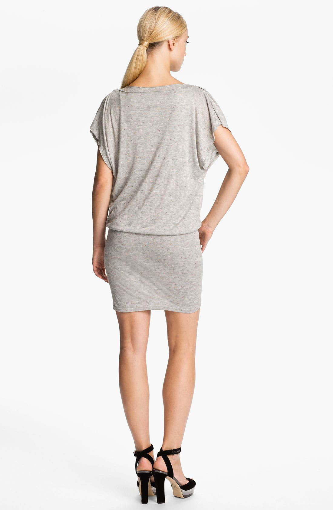 Alternate Image 2  - Alice + Olivia Draped Jersey Dress