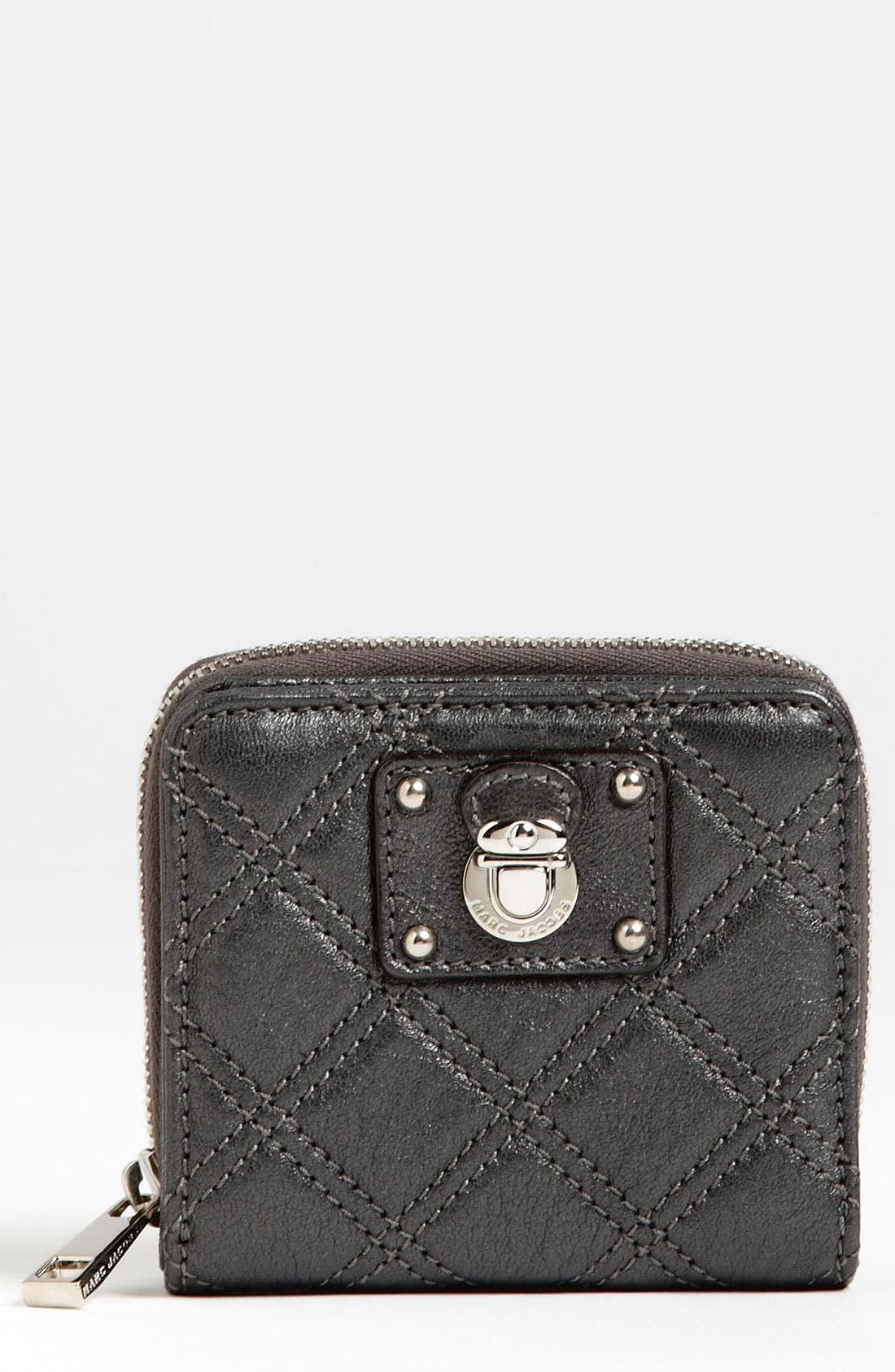 Main Image - MARC JACOBS 'Anabela' Leather French Wallet