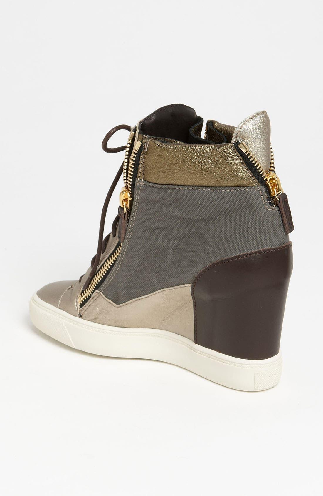 Alternate Image 2  - Giuseppe Zanotti Wedge Sneaker