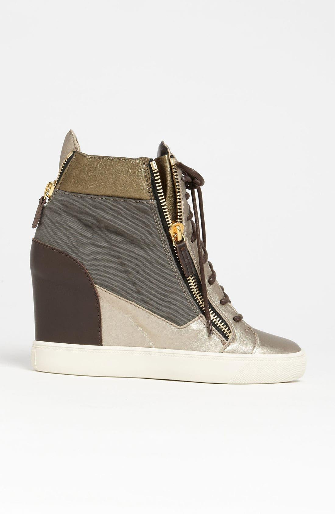 Alternate Image 4  - Giuseppe Zanotti Wedge Sneaker