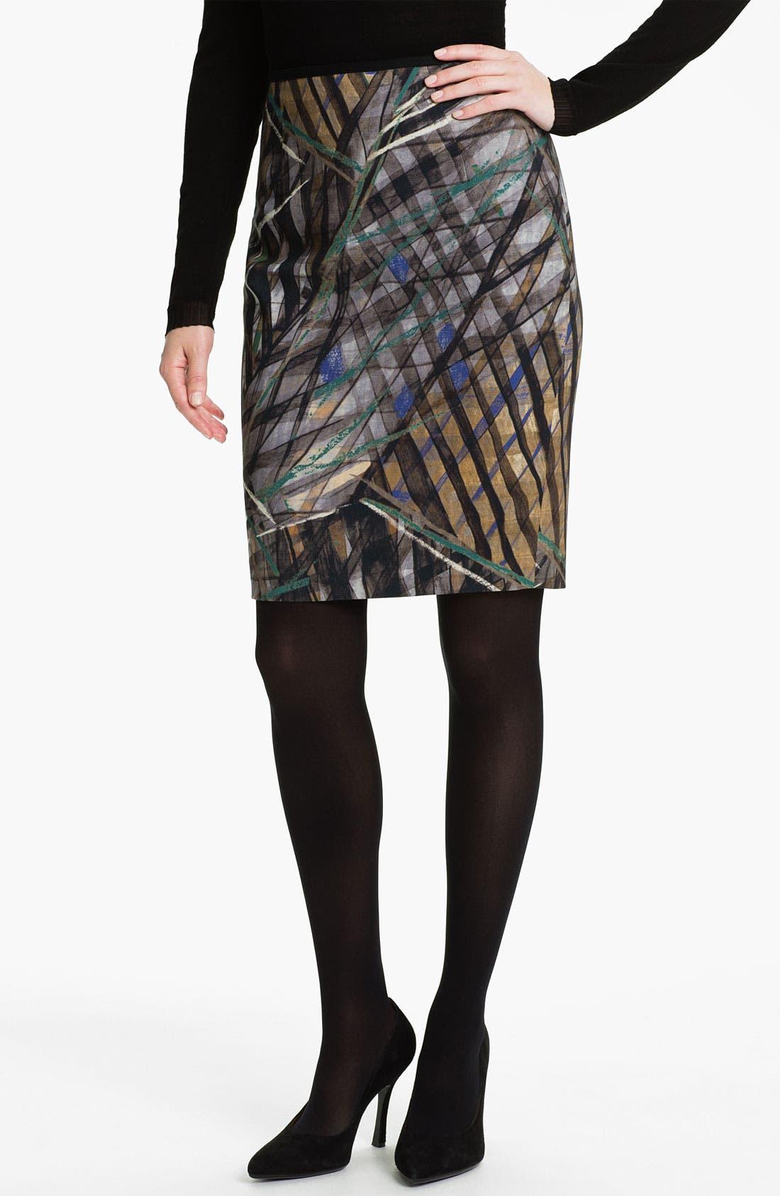 Alternate Image 1 Selected - BOSS Black 'Vilina3' Skirt