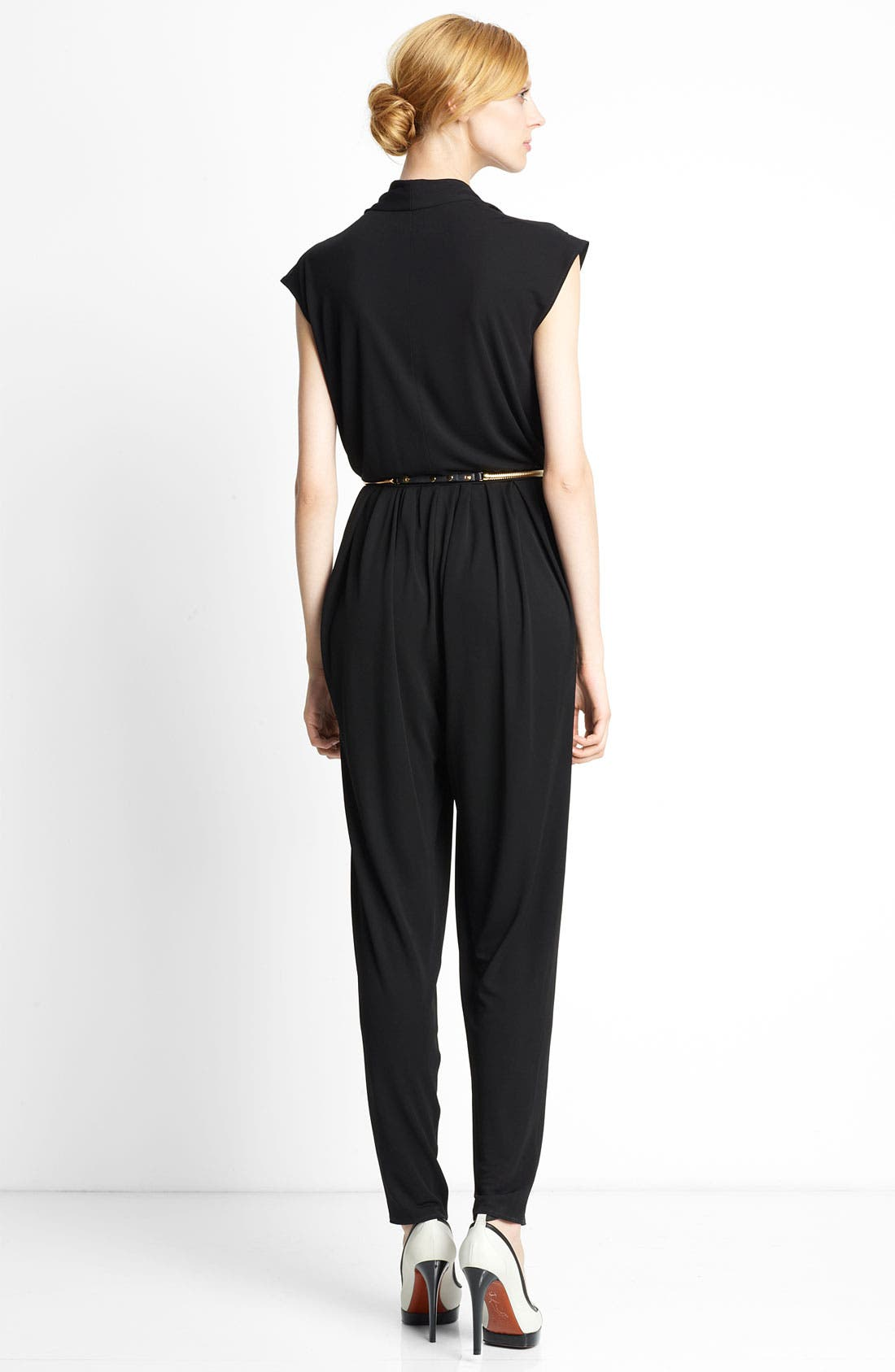 Alternate Image 2  - Lanvin Sleeveless Jersey Jumpsuit