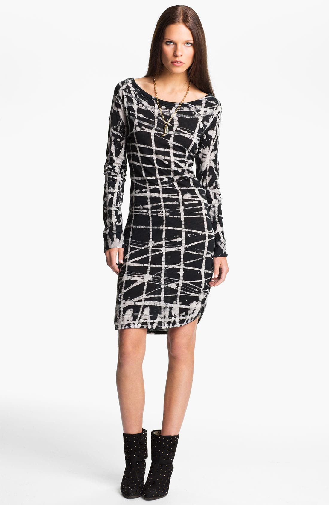Alternate Image 1 Selected - Kelly Wearstler 'Batik Cage' Jersey Dress