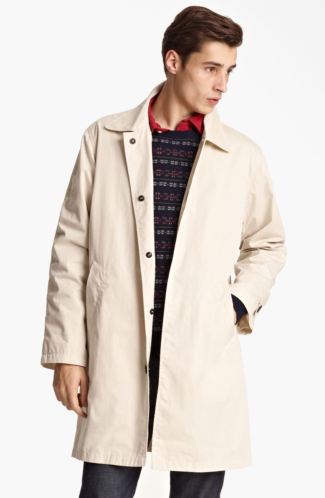 Alternate Image 1 Selected - Grayers Single Breasted Trench Coat