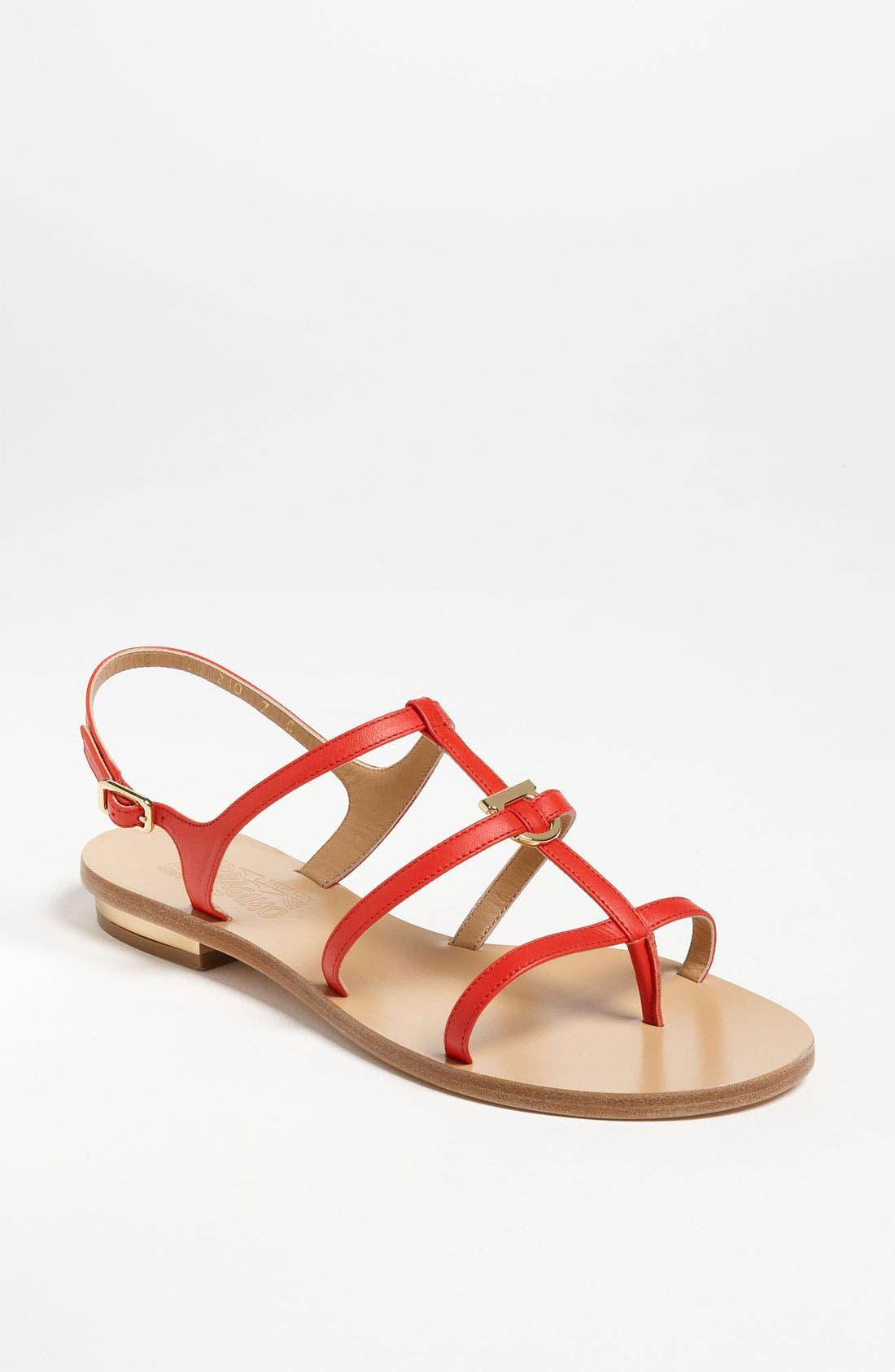 Alternate Image 1 Selected - Salvatore Ferragamo 'Senia' Sandal