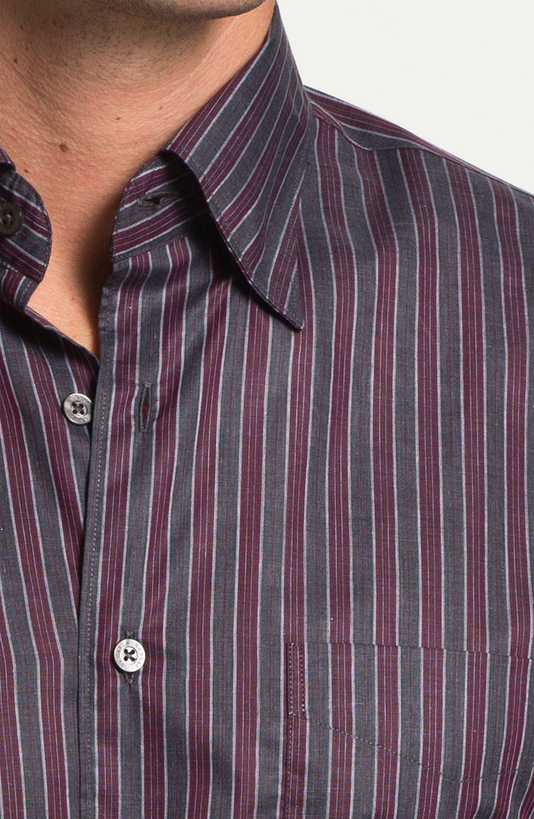 Alternate Image 3  - Canali Regular Fit Sport Shirt