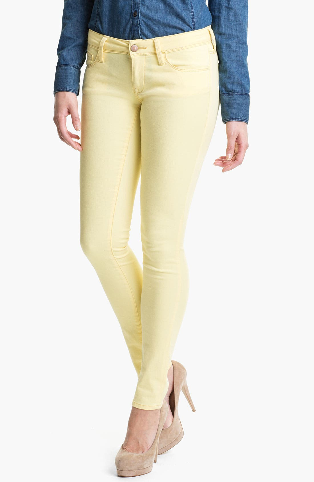Alternate Image 1 Selected - Mavi Jeans 'Serena' Low Rise Super Skinny Jeans (Online Exclusive)
