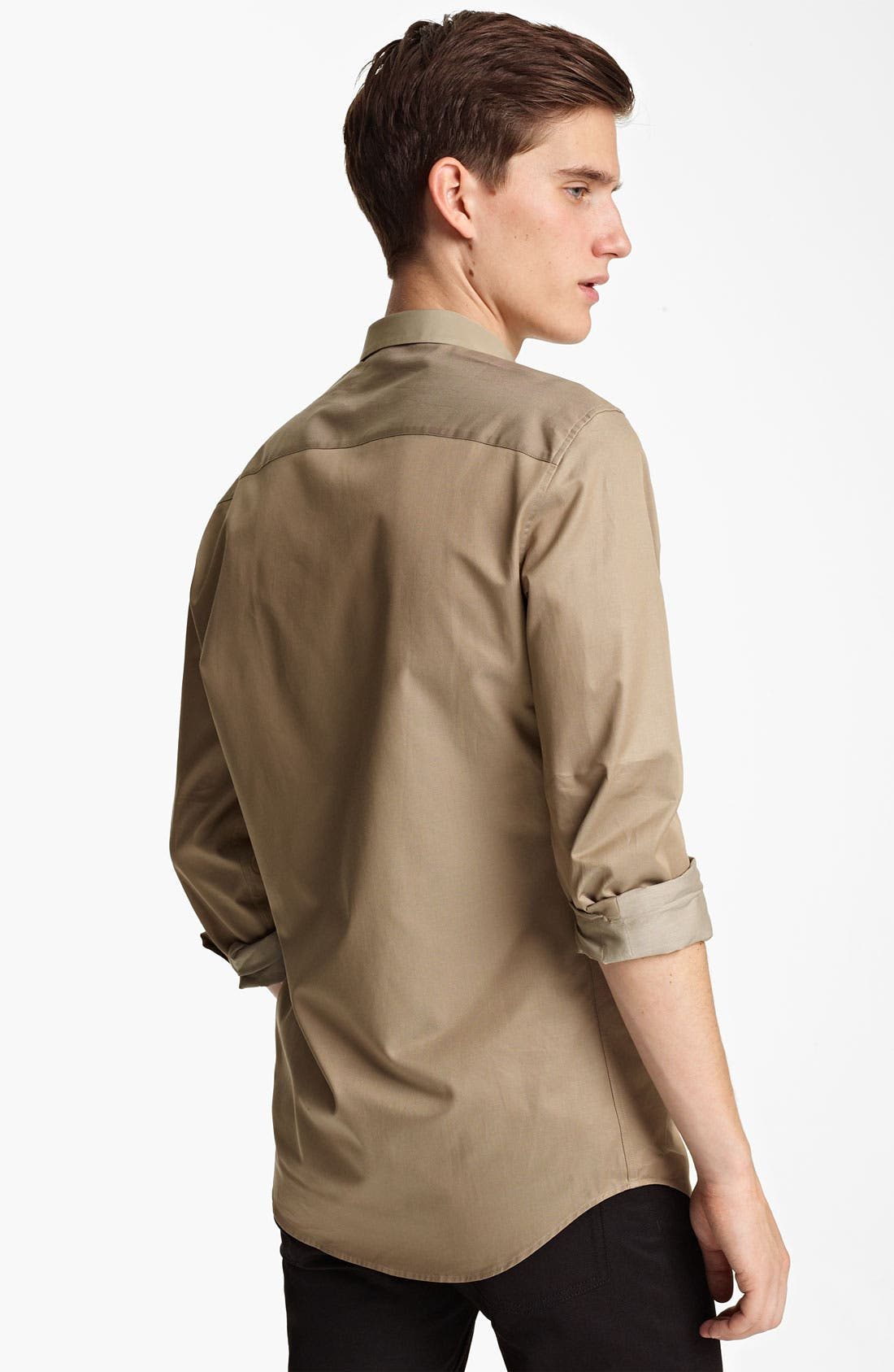 Alternate Image 2  - Z Zegna Trim Fit Sport Shirt