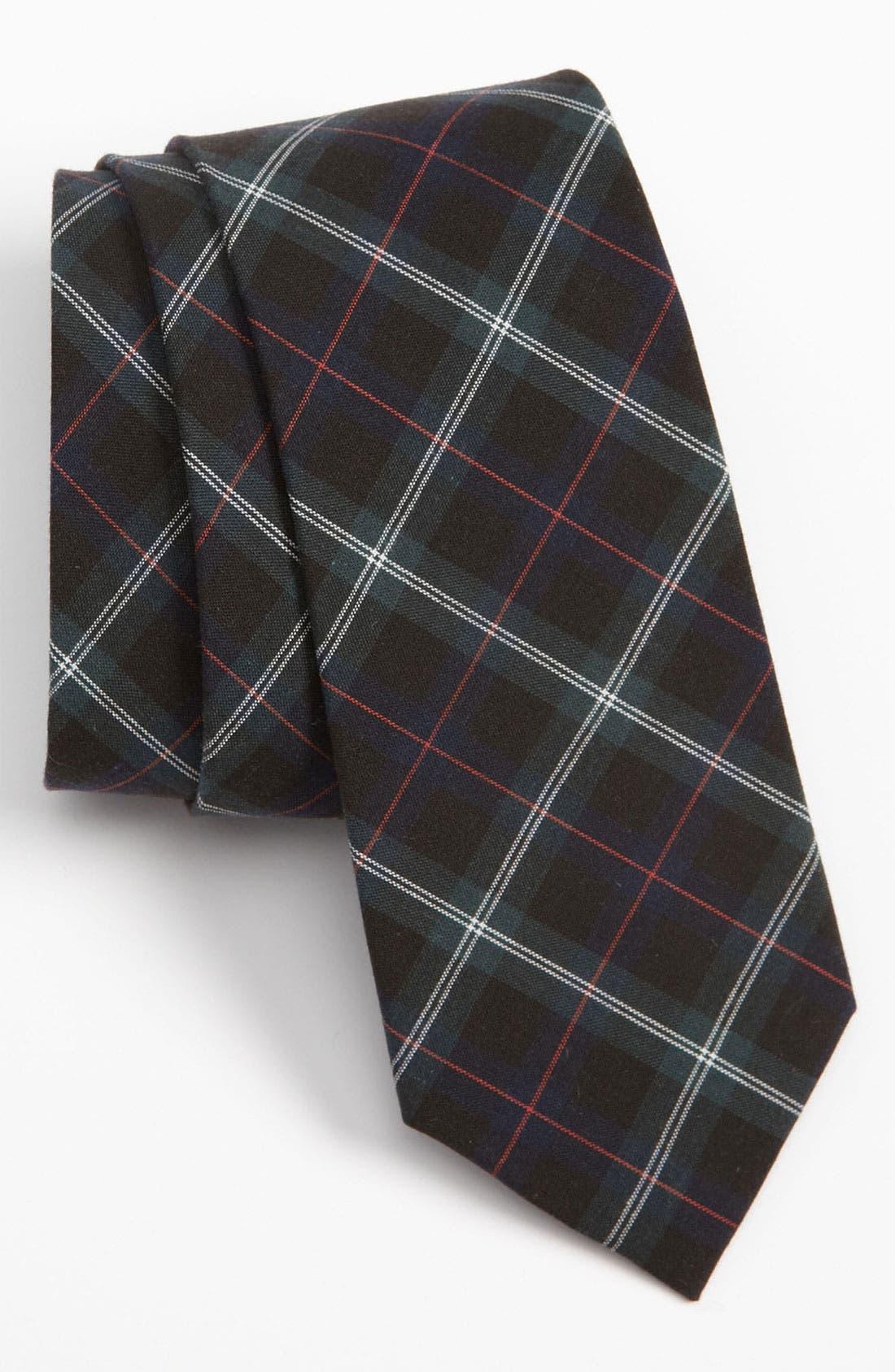 Main Image - The Tie Bar Woven Cotton Tie (Online Exclusive)