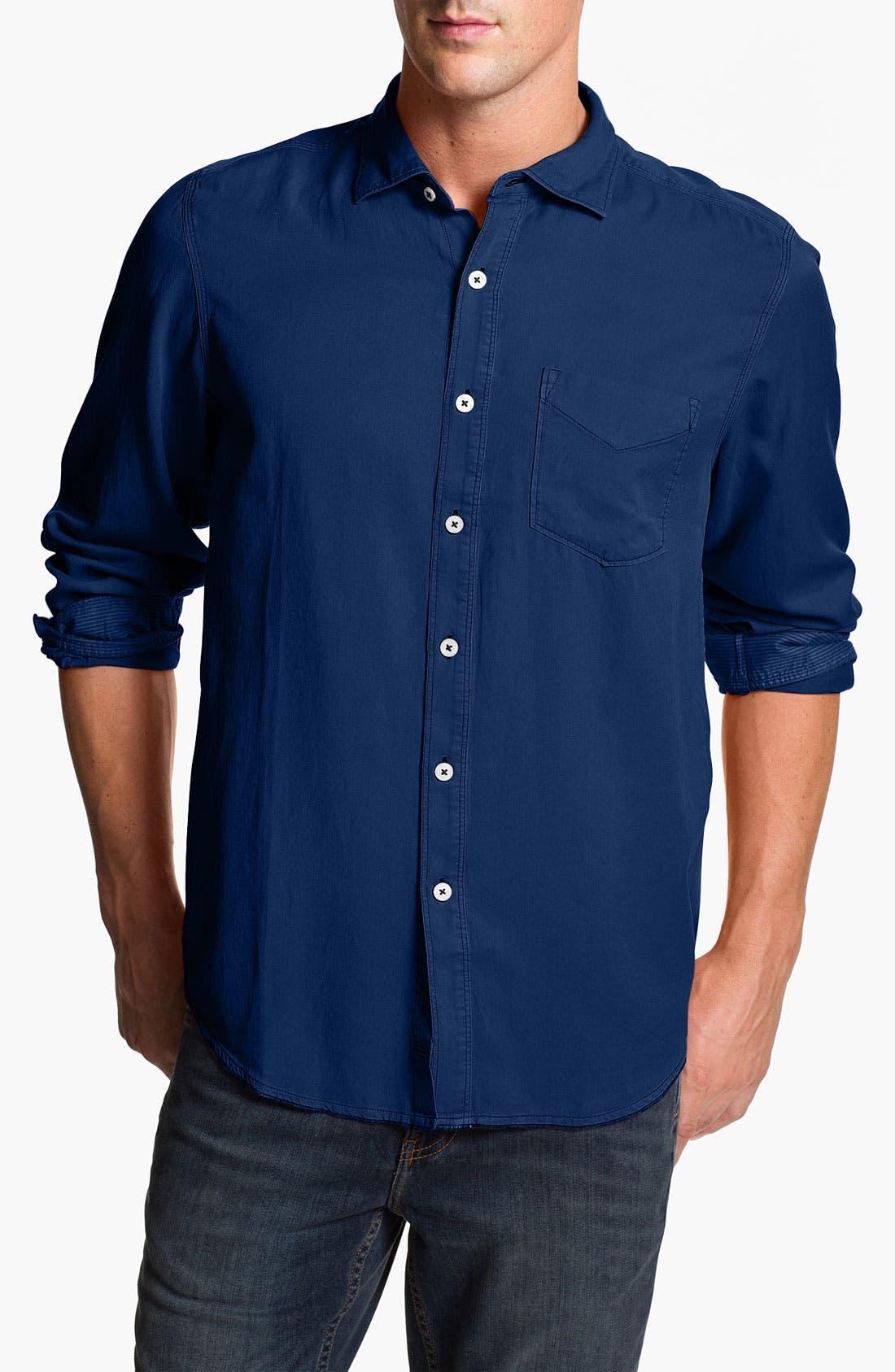 Main Image - Tommy Bahama Denim 'Still Twillin' Island Modern Fit Sport Shirt