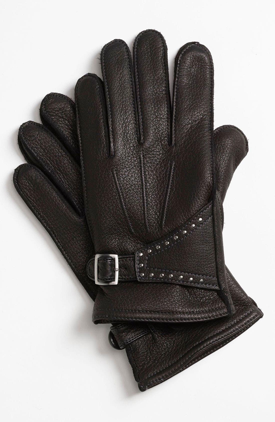 Alternate Image 1 Selected - John Varvatos Star USA Deerskin Gloves