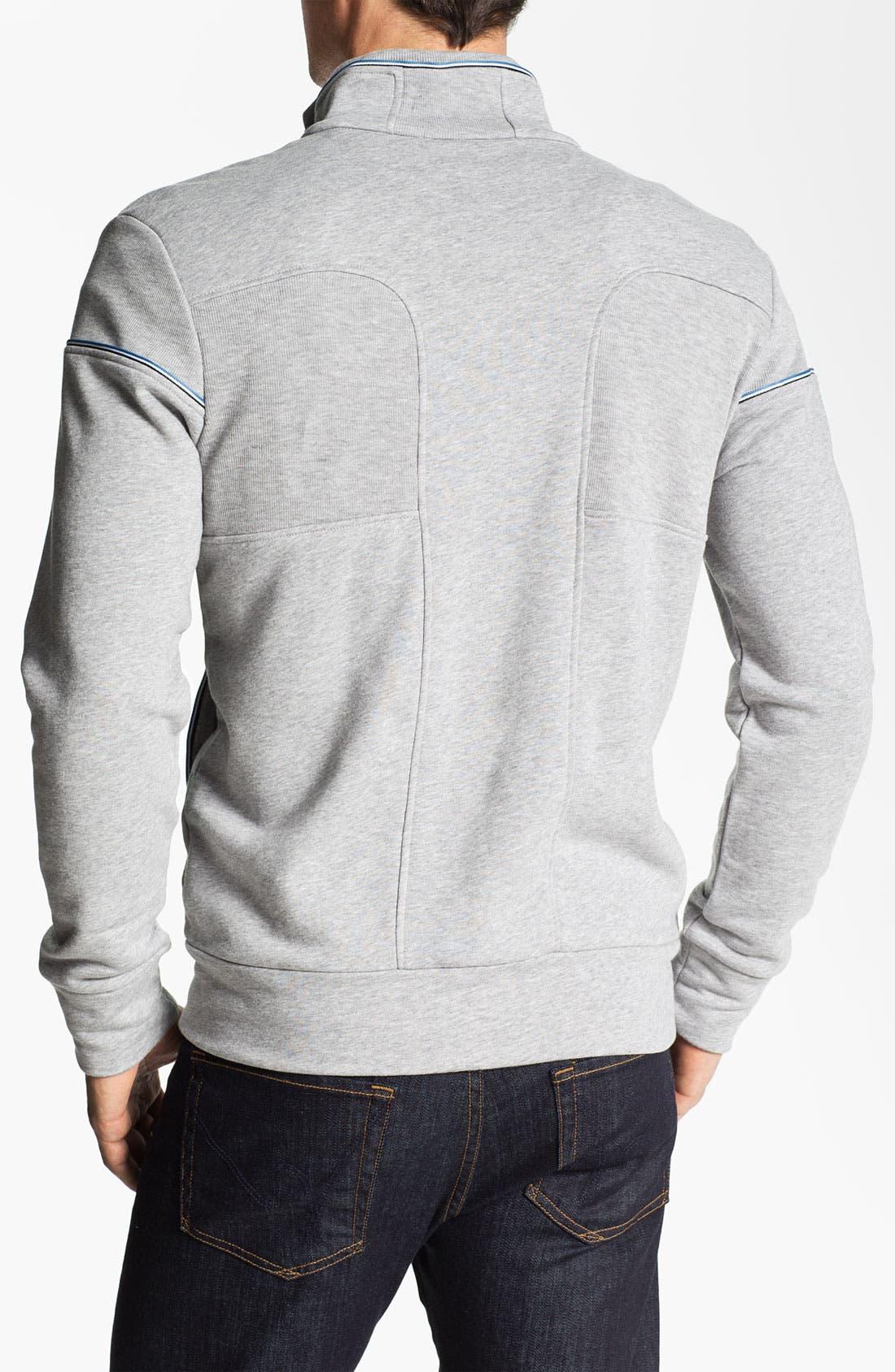 Alternate Image 2  - BOSS Green 'Skaz' Zip Sweatshirt