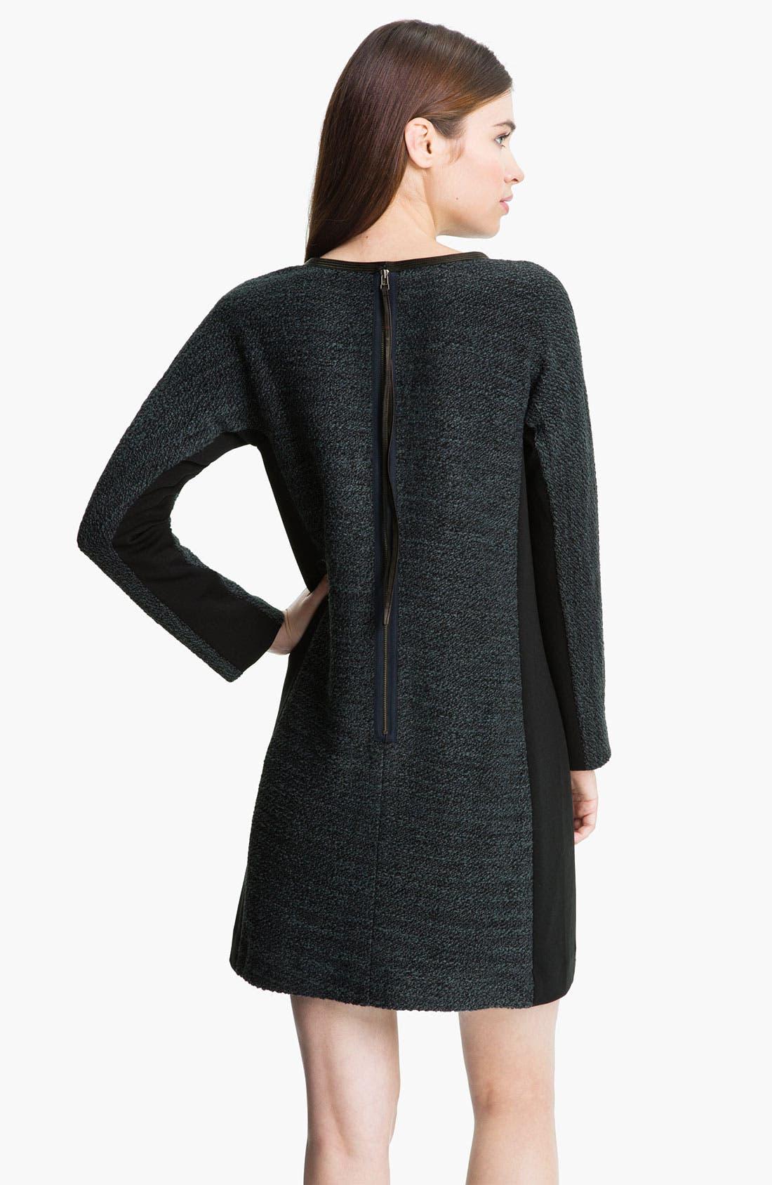 Alternate Image 2  - Rebecca Taylor Bouclé Shift Dress